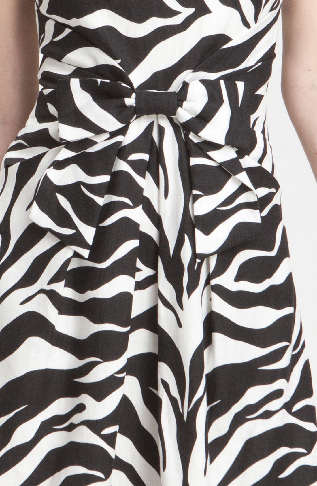 Alternate Image 3  - kate spade new york 'jillian' animal print dress