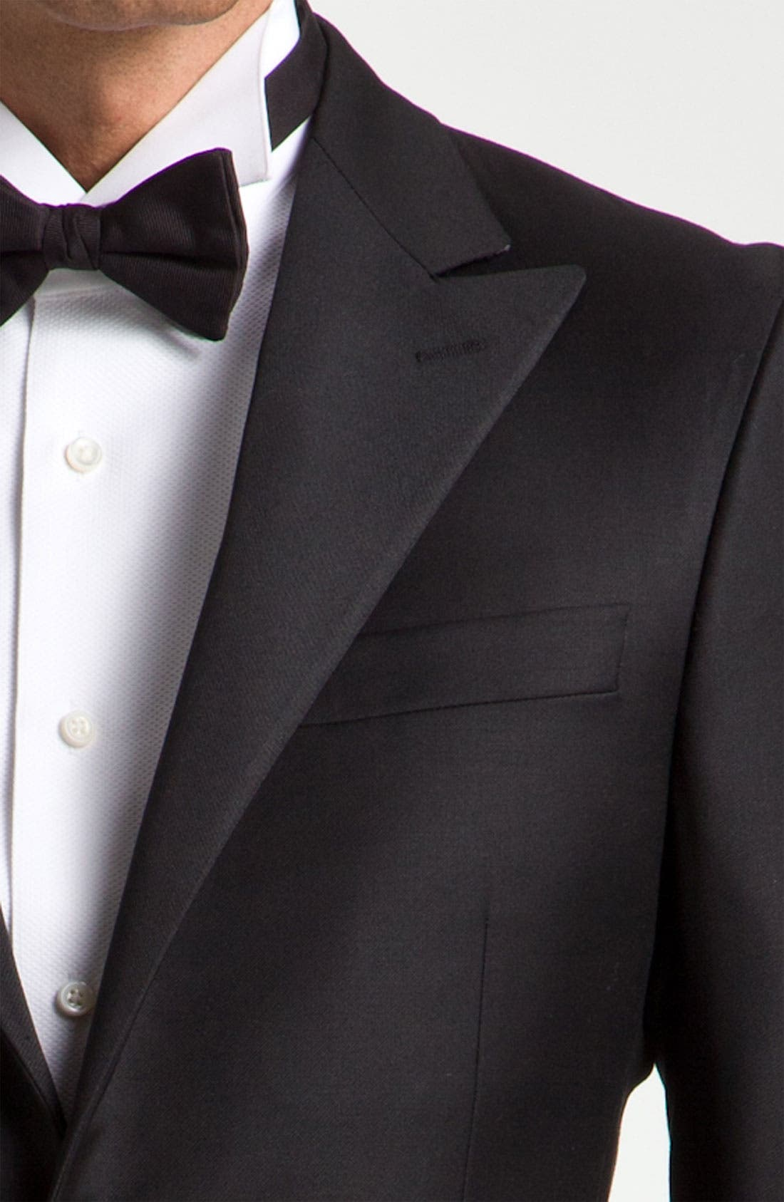 Alternate Image 4  - Hickey Freeman Worsted Wool Tuxedo
