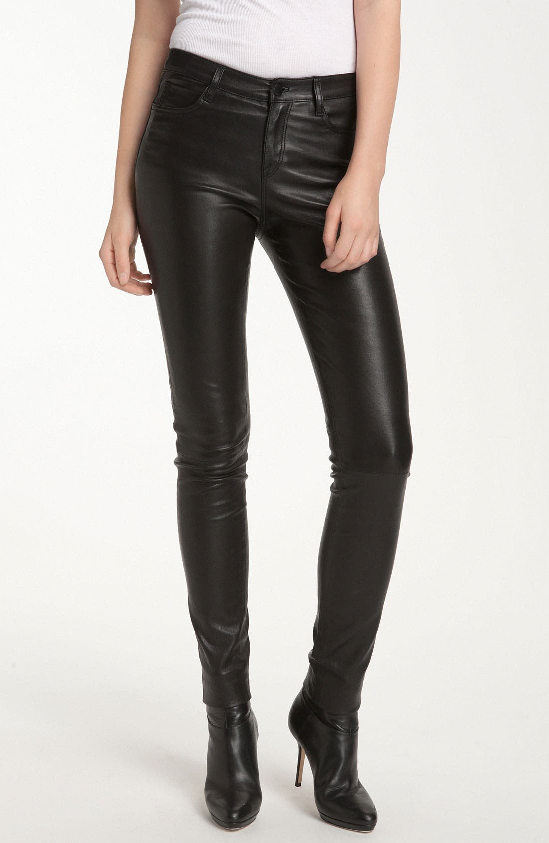 Alternate Image 1 Selected - Vince Leather Jeans