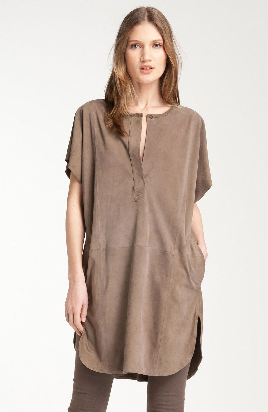 Alternate Image 1 Selected - Vince Suede Tunic