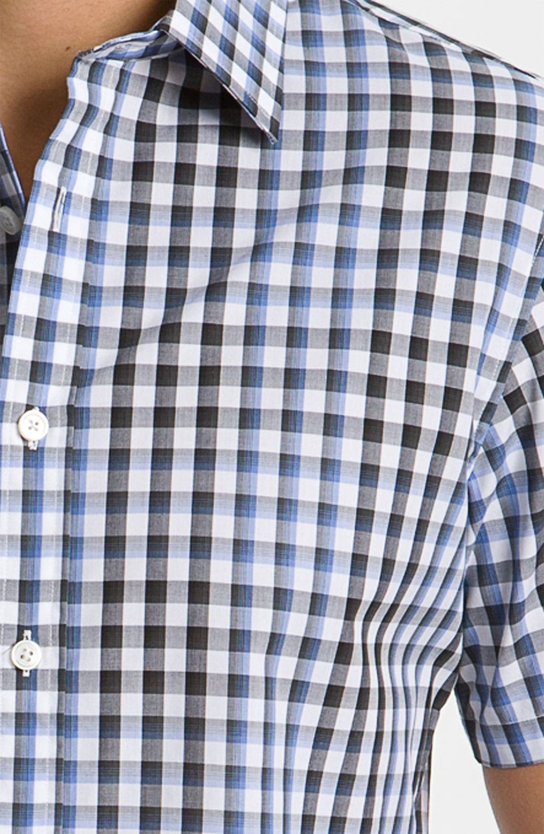 Alternate Image 3  - Michael Kors 'Nils' Check Plaid Woven Shirt