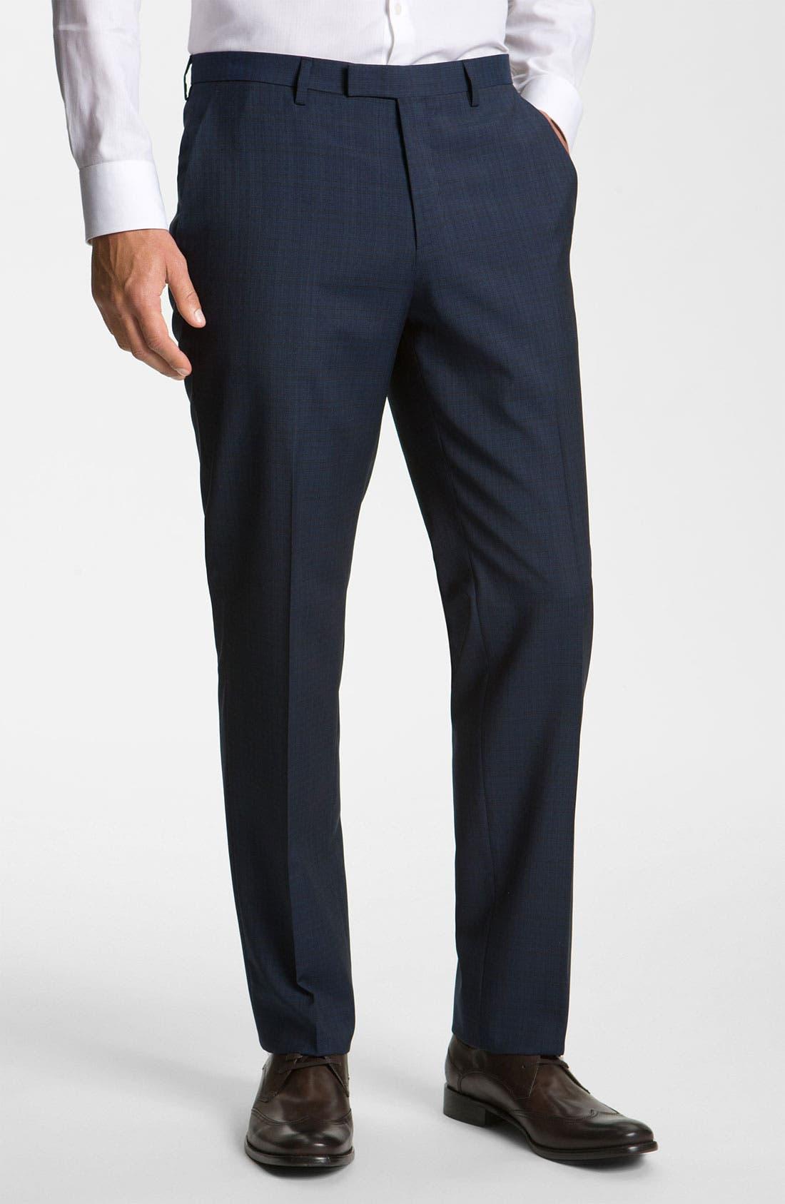 Alternate Image 4  - BOSS Black 'James/Sharp' Trim Fit Wool Suit