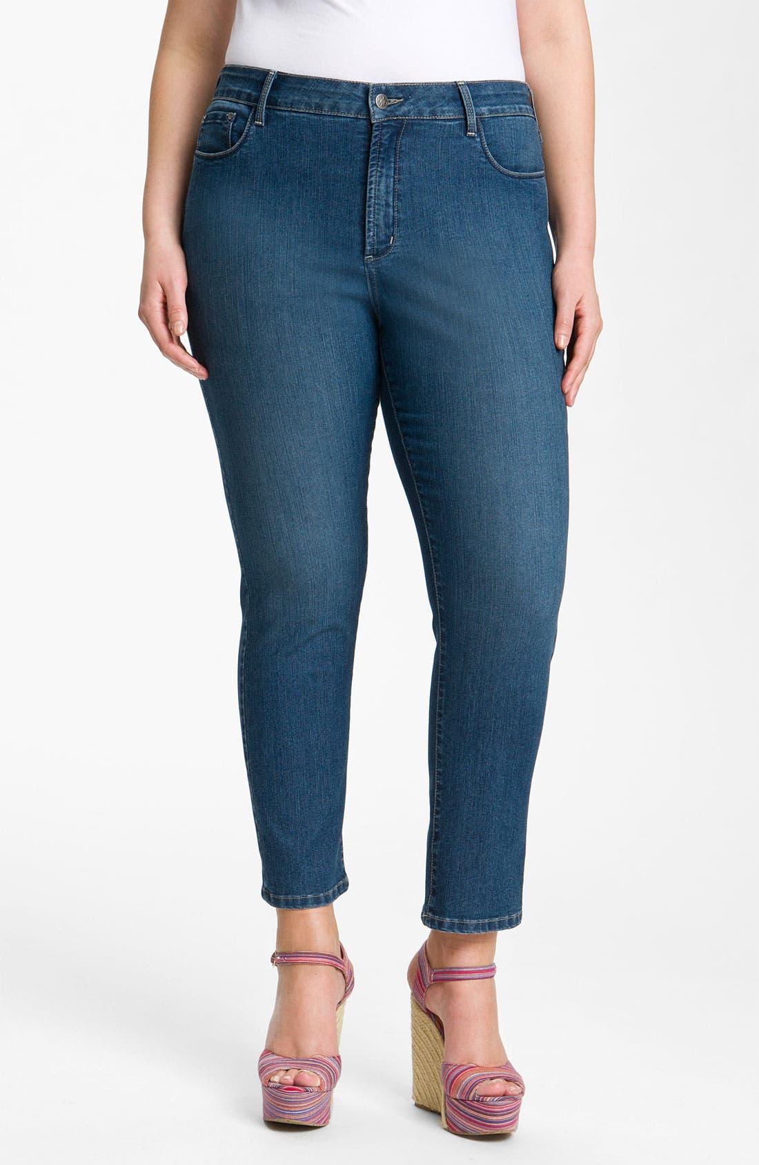 Alternate Image 2  - NYDJ 'Cora' Ankle Jeans (Plus)