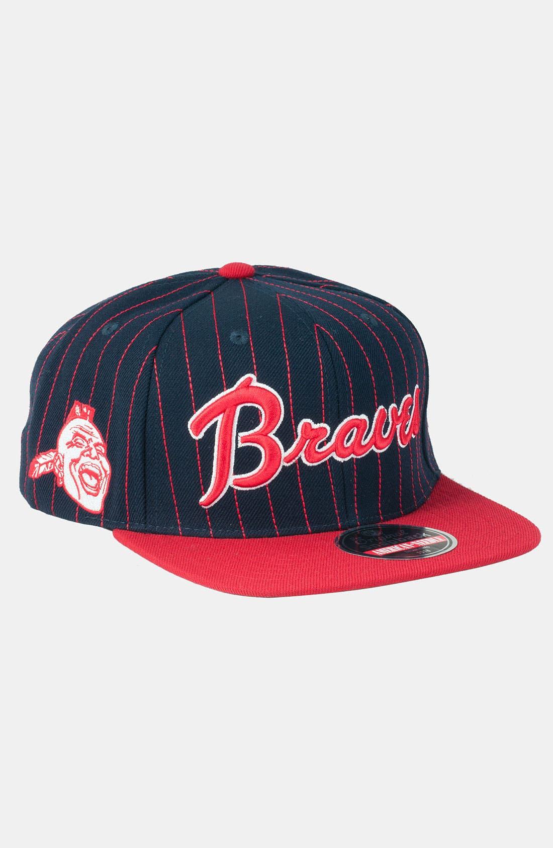 Alternate Image 1 Selected - American Needle 'Braves' Snapback Baseball Cap