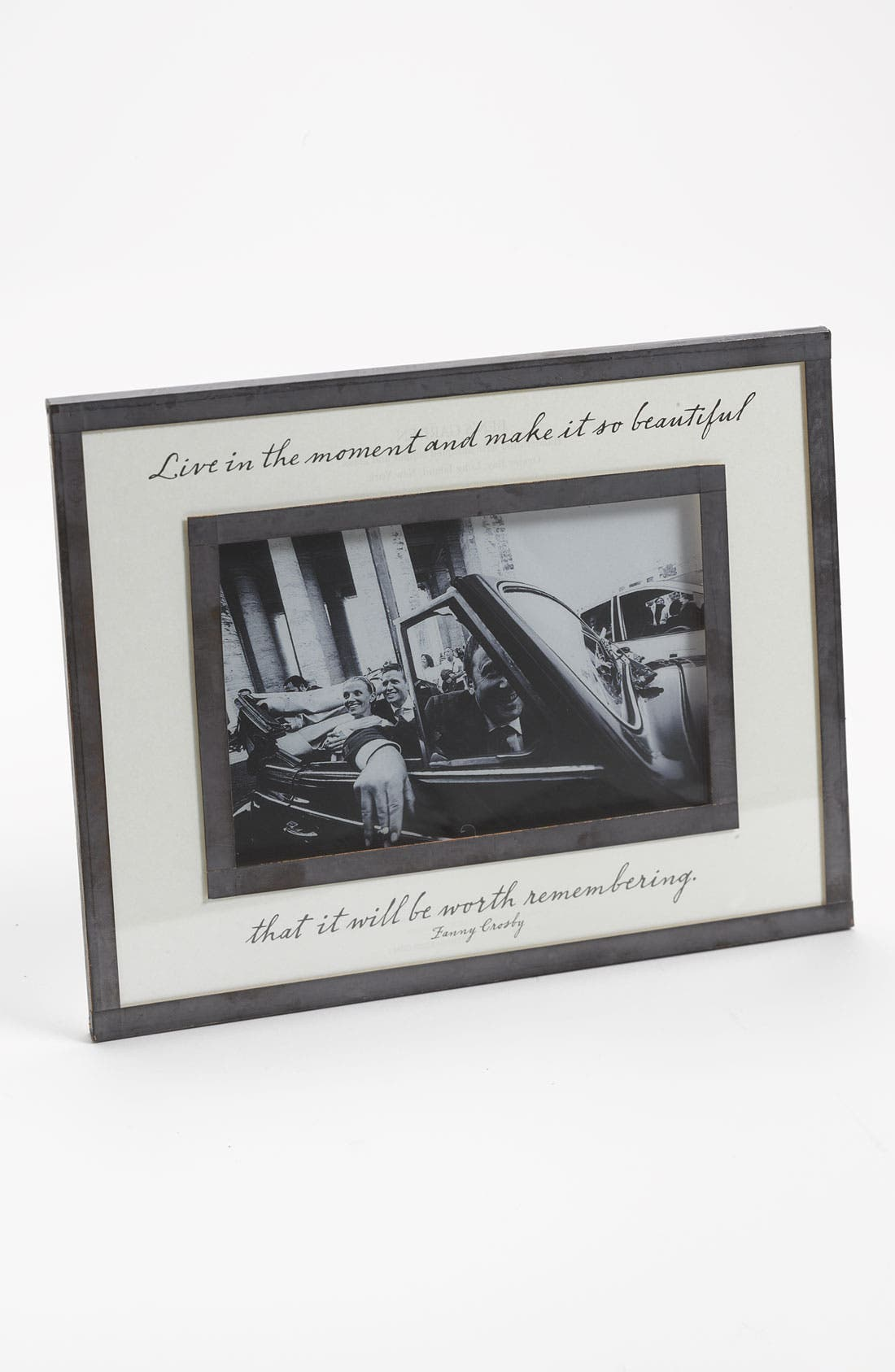 Alternate Image 1 Selected - Ben's Garden 'Live in the Moment' Picture Frame (4x6) (Nordstrom Exclusive)