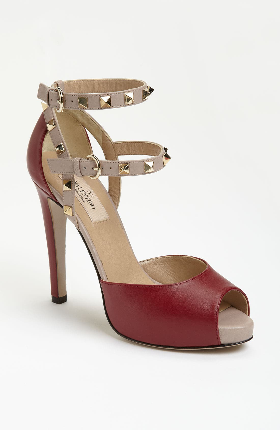 Alternate Image 1 Selected - Valentino Stud Sandal