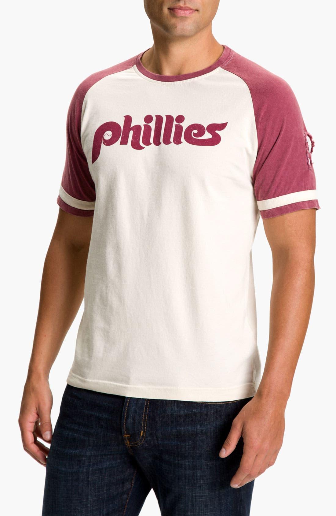 Alternate Image 1 Selected - Red Jacket 'Phillies - Remote Control' T-Shirt