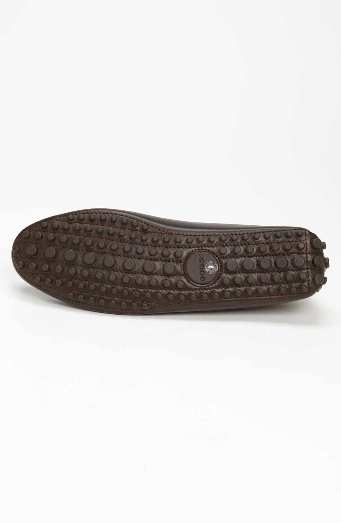 Alternate Image 4  - Gucci 'Auger' Driving Shoe
