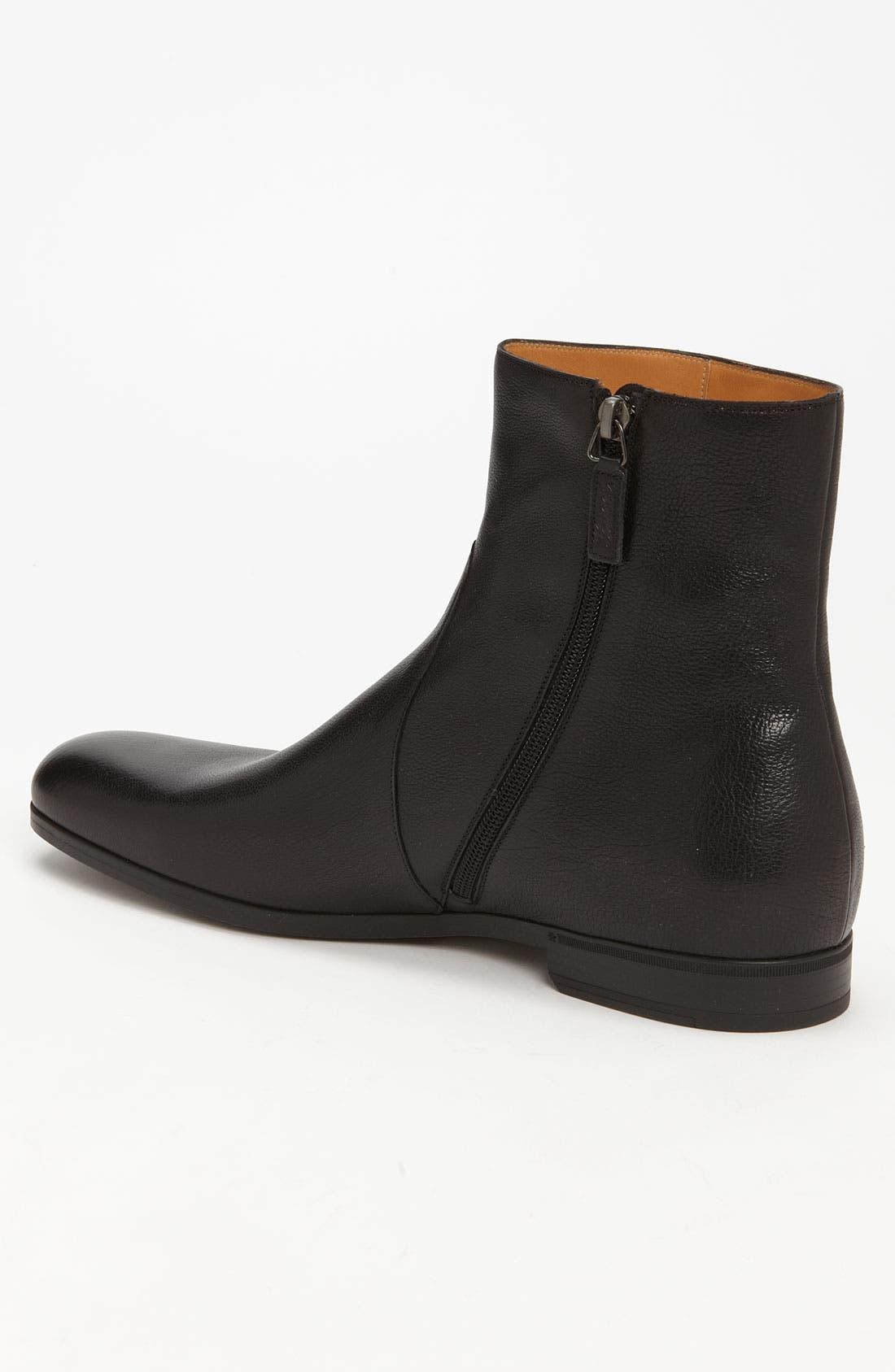 Alternate Image 2  - Gucci 'Deroy' Plain Toe Boot