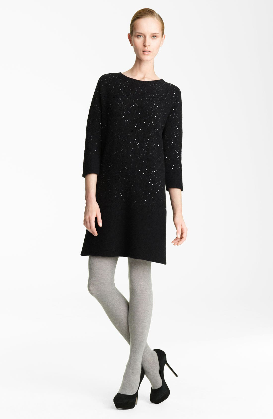 Main Image - Fabiana Filippi Sequin Detail Knit Dress