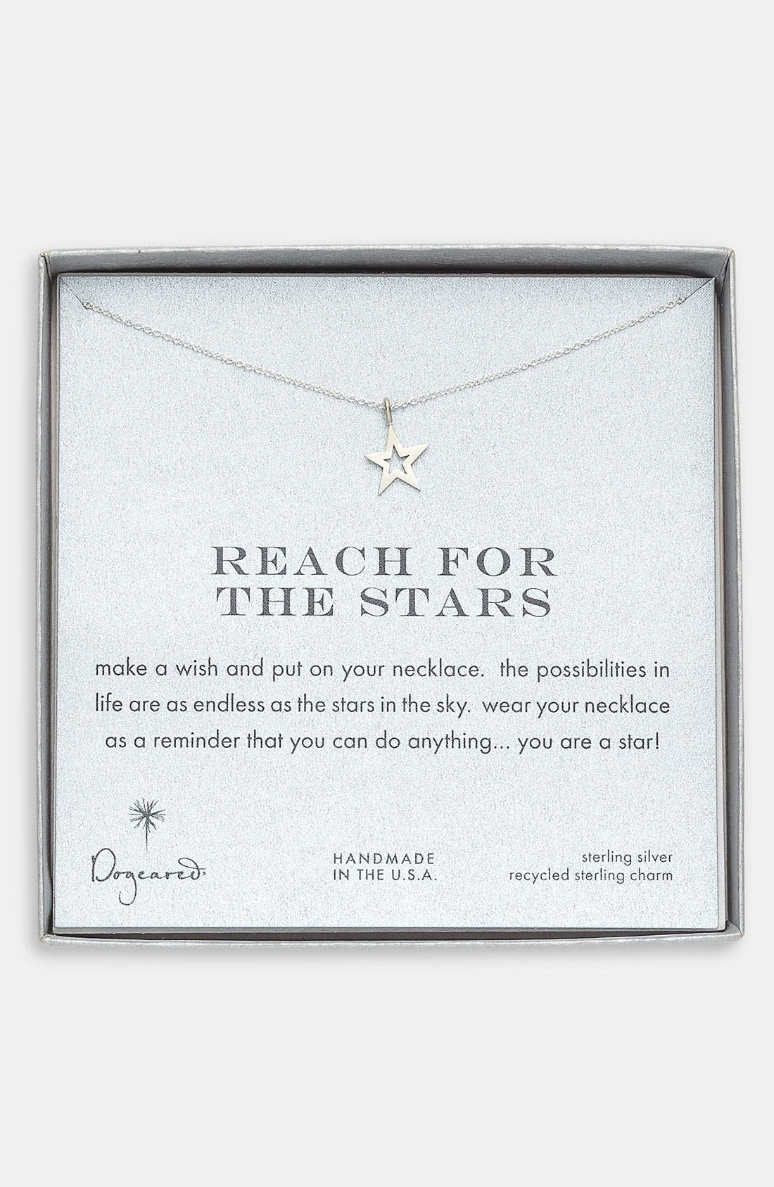 Main Image - Dogeared 'Reach for the Stars' Pendant Necklace