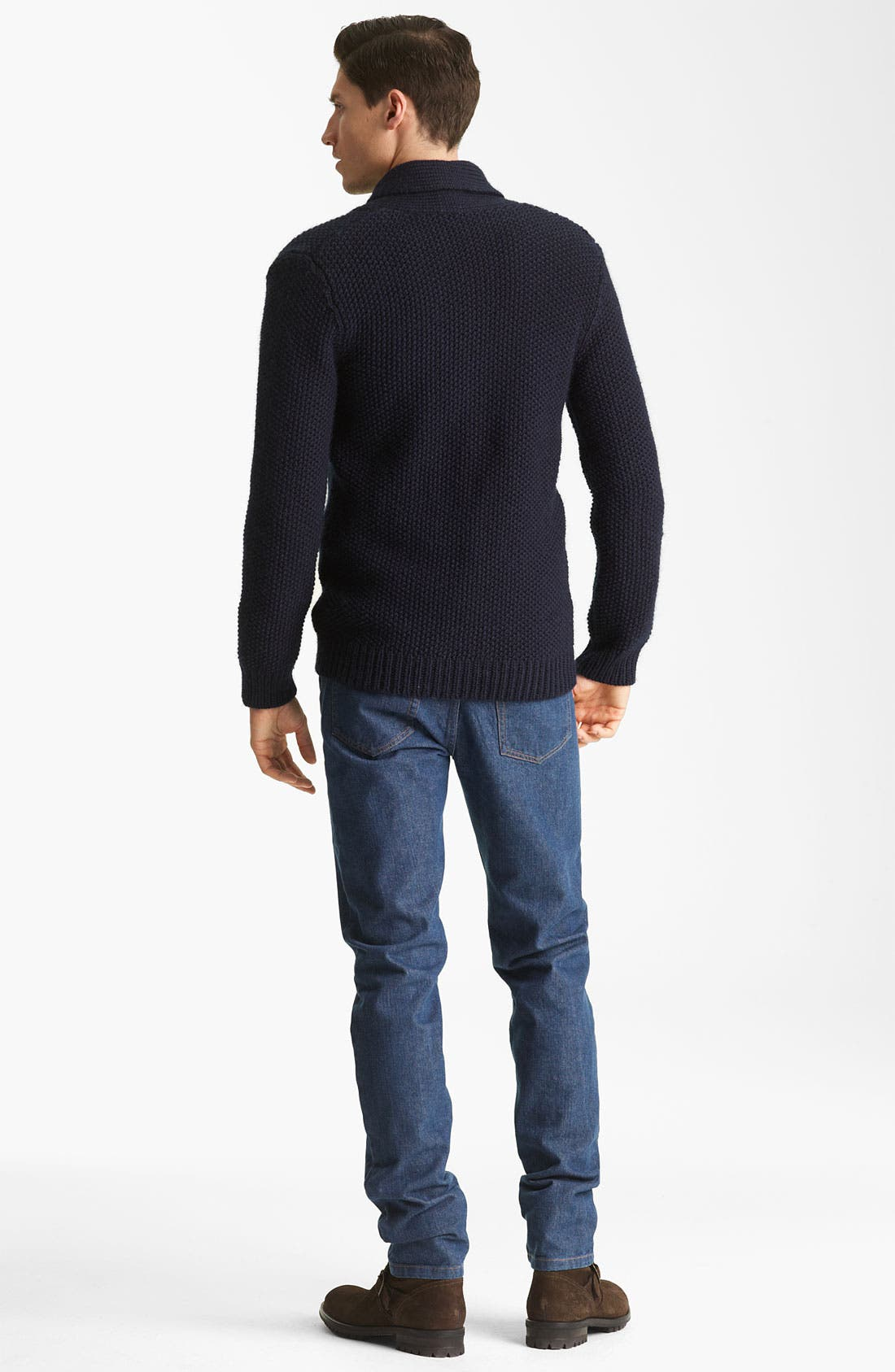 Alternate Image 5  - A.P.C. Shawl Collar Cardigan