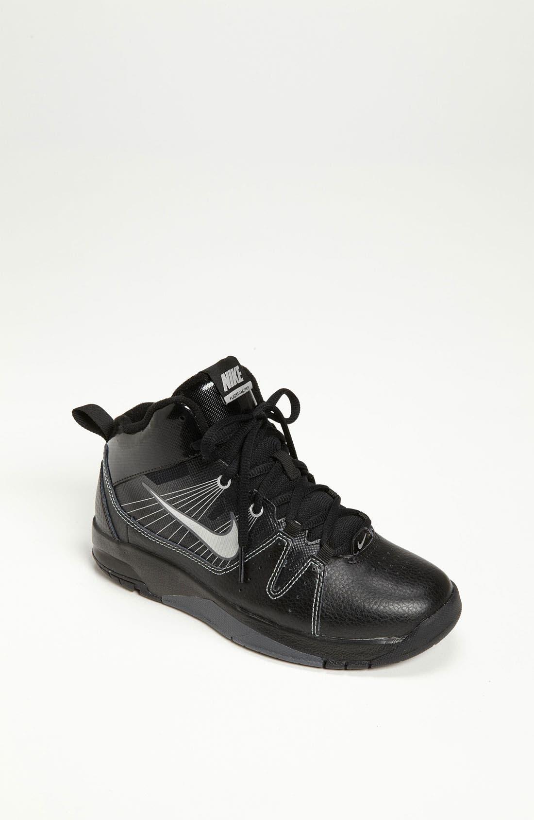 Alternate Image 1 Selected - Nike 'Flight Jab Step' Basketball Shoe (Toddler, Little Kid & Big Kid)