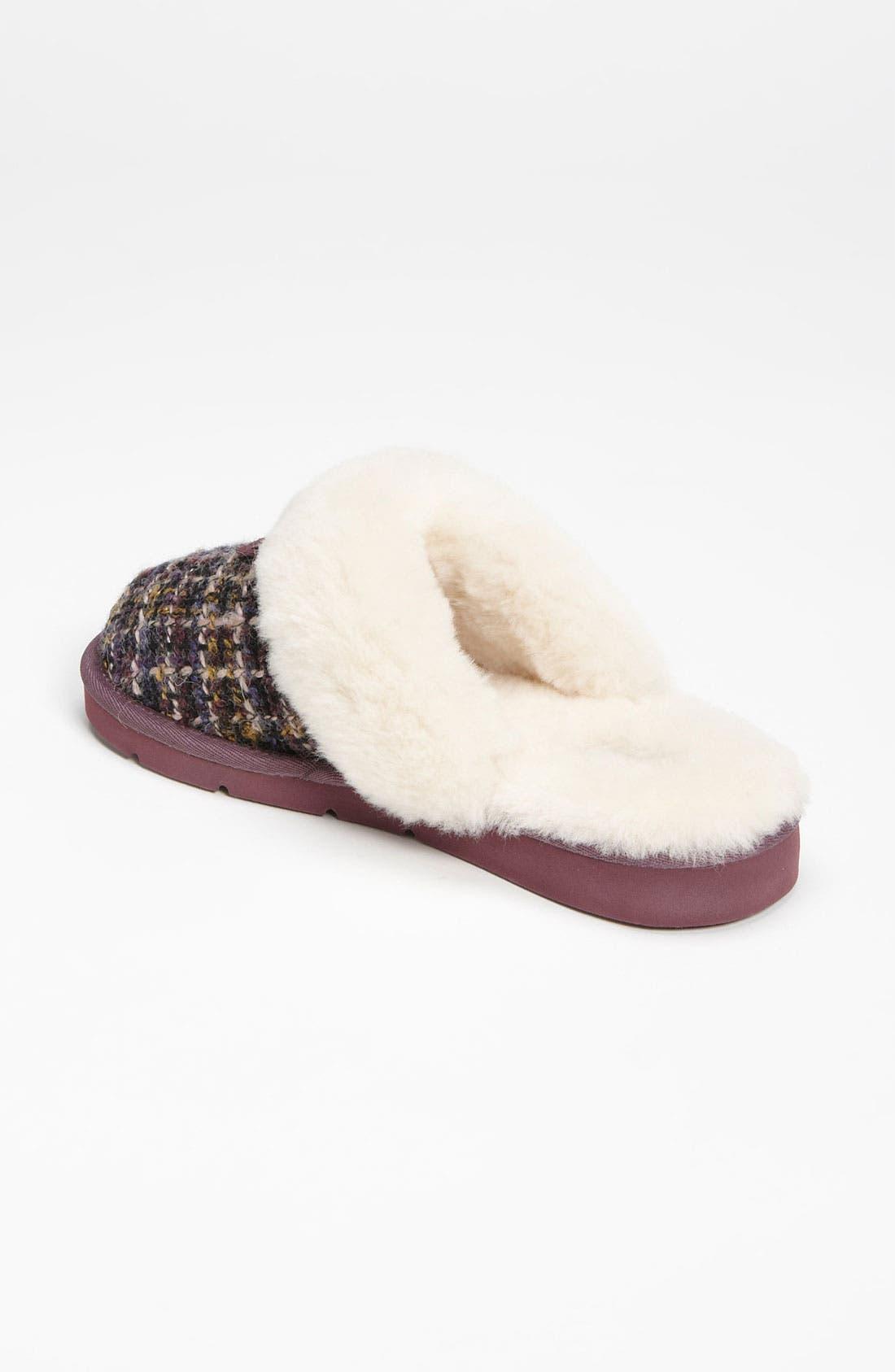 Alternate Image 2  - UGG® Australia 'Cozy Tweed' Slipper (Women)