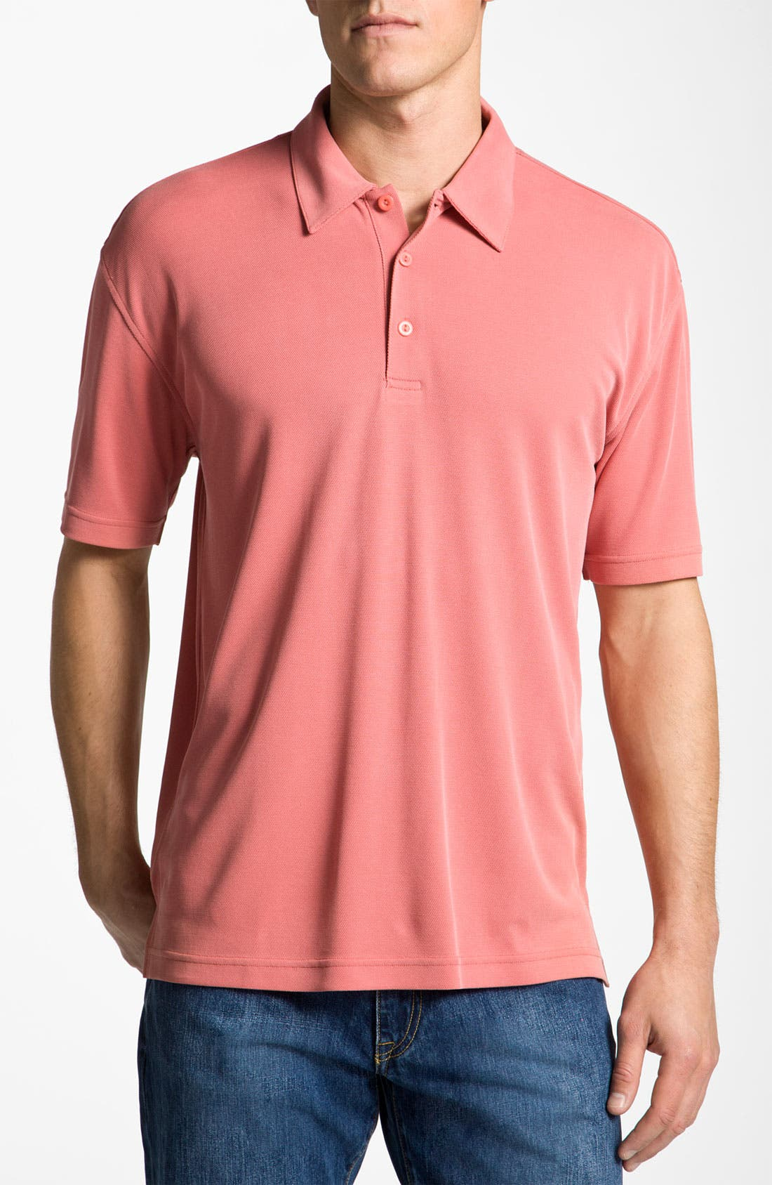 Main Image - Burma Bibas Regular Fit Knit Polo