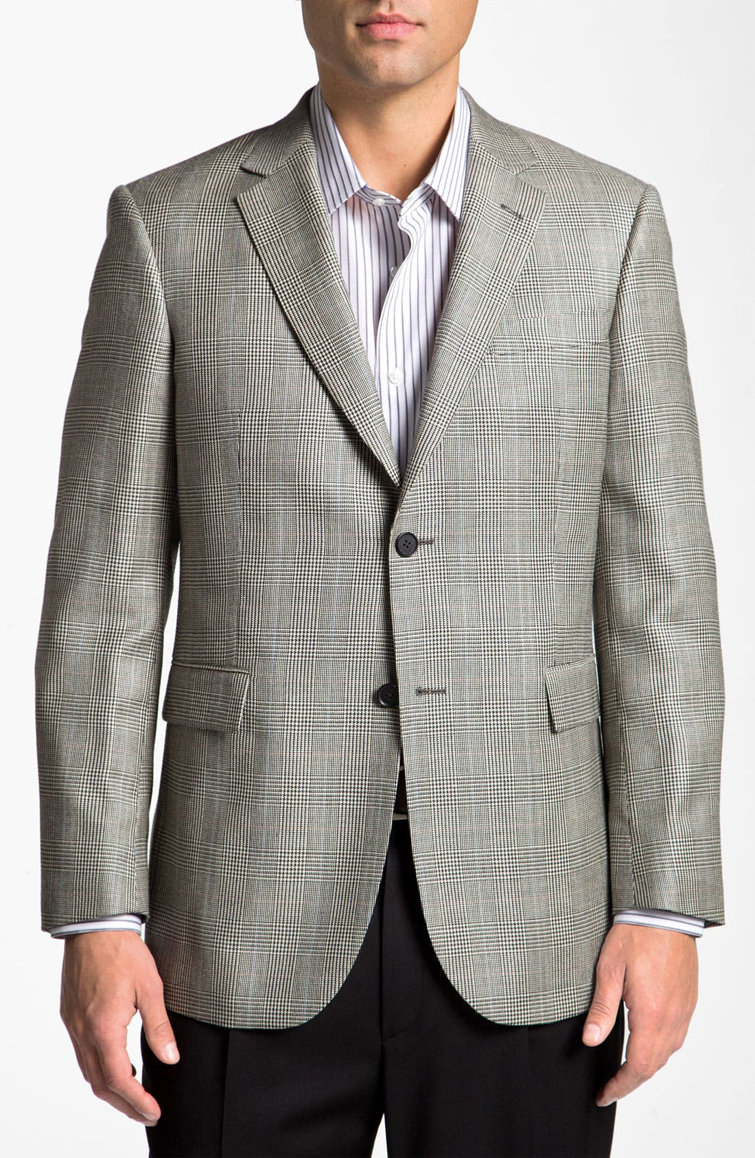 Alternate Image 1 Selected - John W. Nordstrom® Plaid Sportcoat