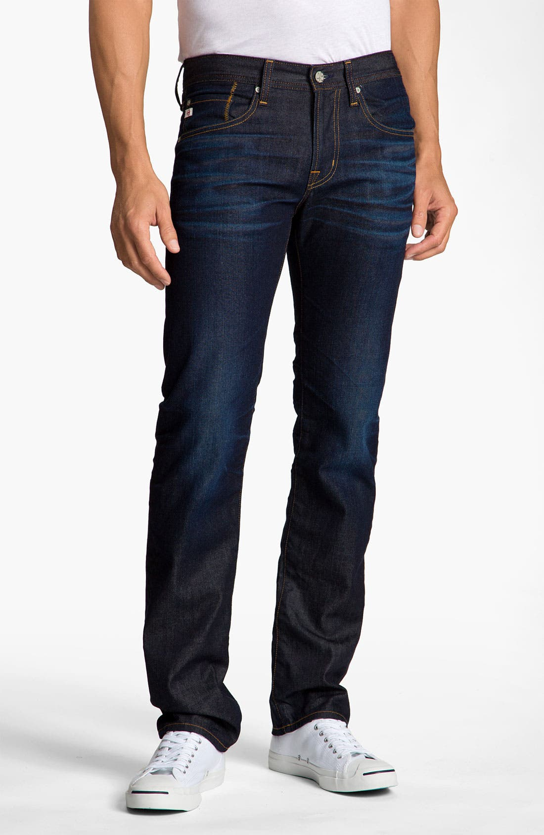 Alternate Image 2  - AG Jeans 'Matchbox' Slim Straight Leg Jeans (2 Year)