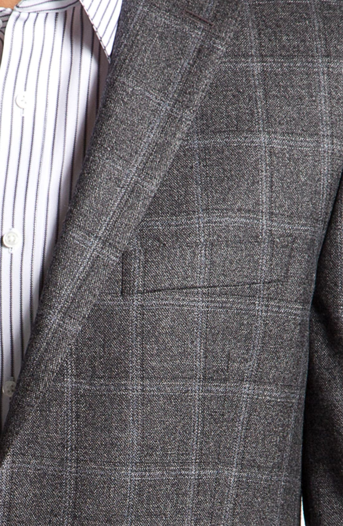 Alternate Image 3  - Peter Millar Plaid Sportcoat