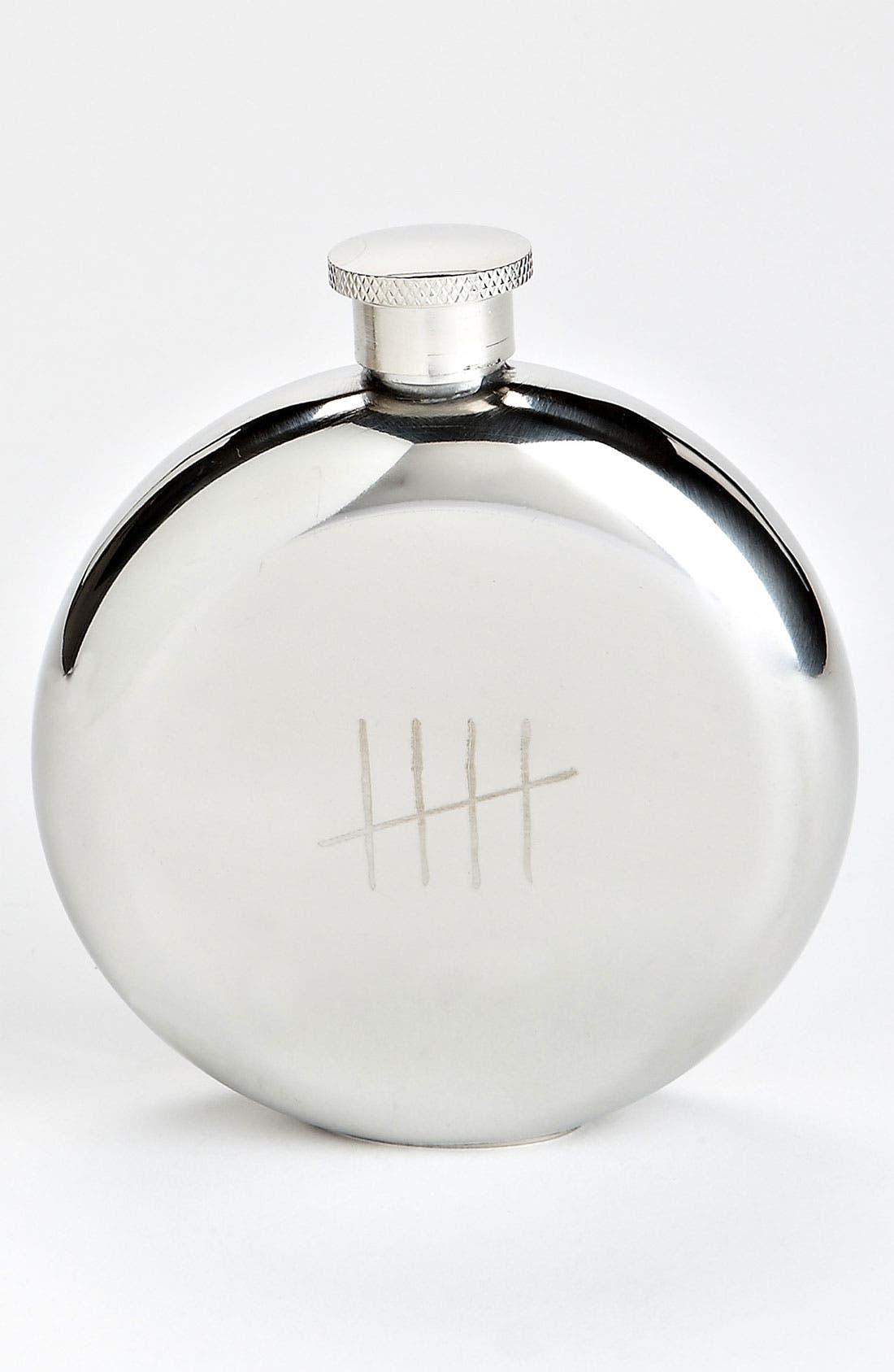 Alternate Image 1 Selected - 'Tick Marks' Flask