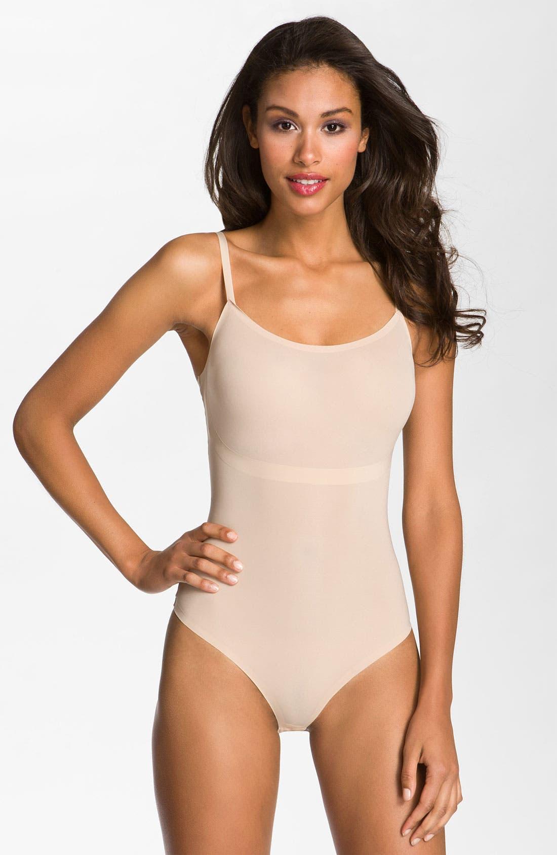 Alternate Image 1 Selected - SPANX® 'Thinstincts' Thong Bodysuit Shaper