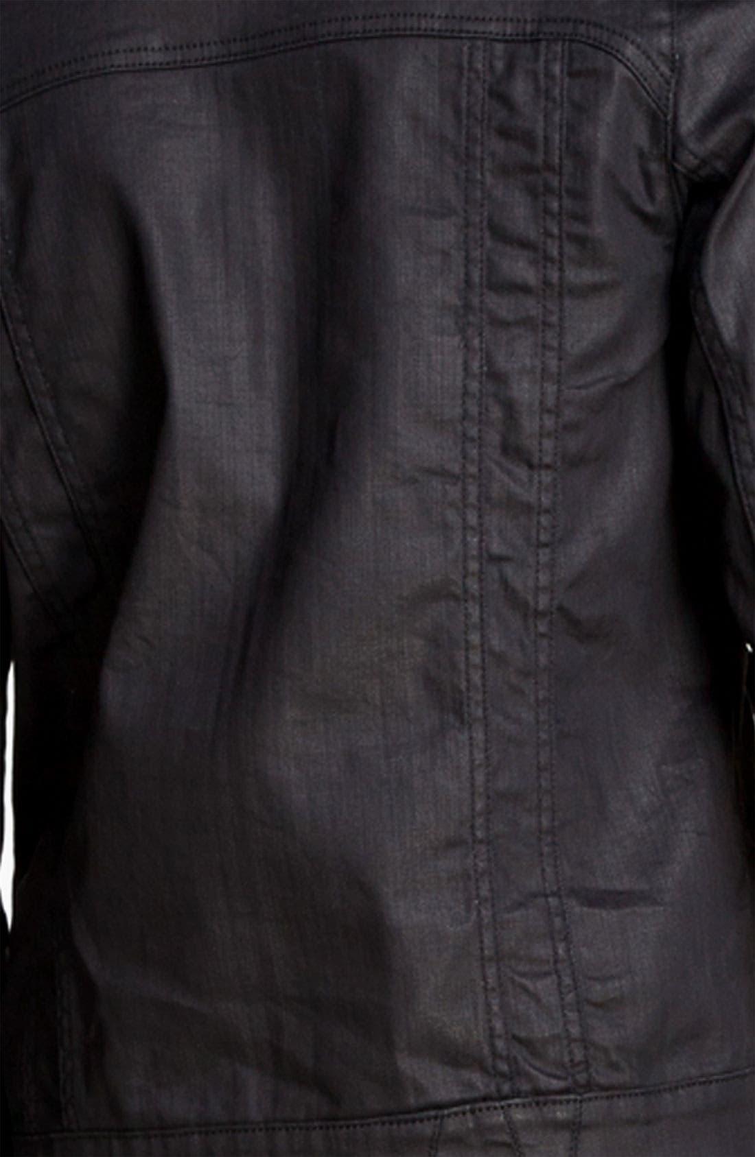 Alternate Image 3  - Zadig & Voltaire Waxed Denim Jacket
