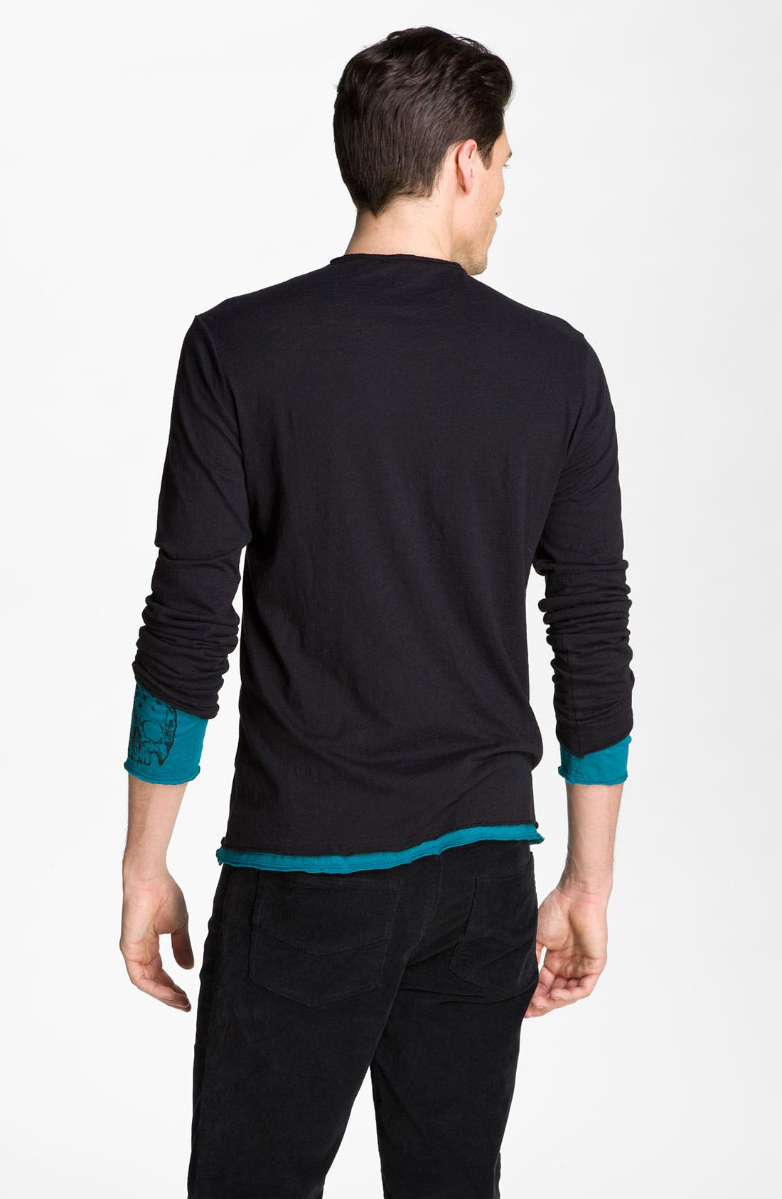 Alternate Image 2  - Zadig & Voltaire Double Layer Henley