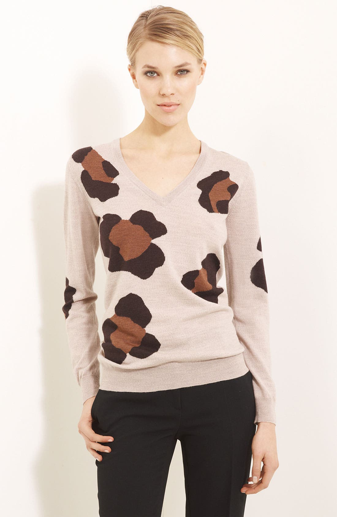 Alternate Image 1 Selected - Moschino Cheap & Chic Merino Wool Knit Top