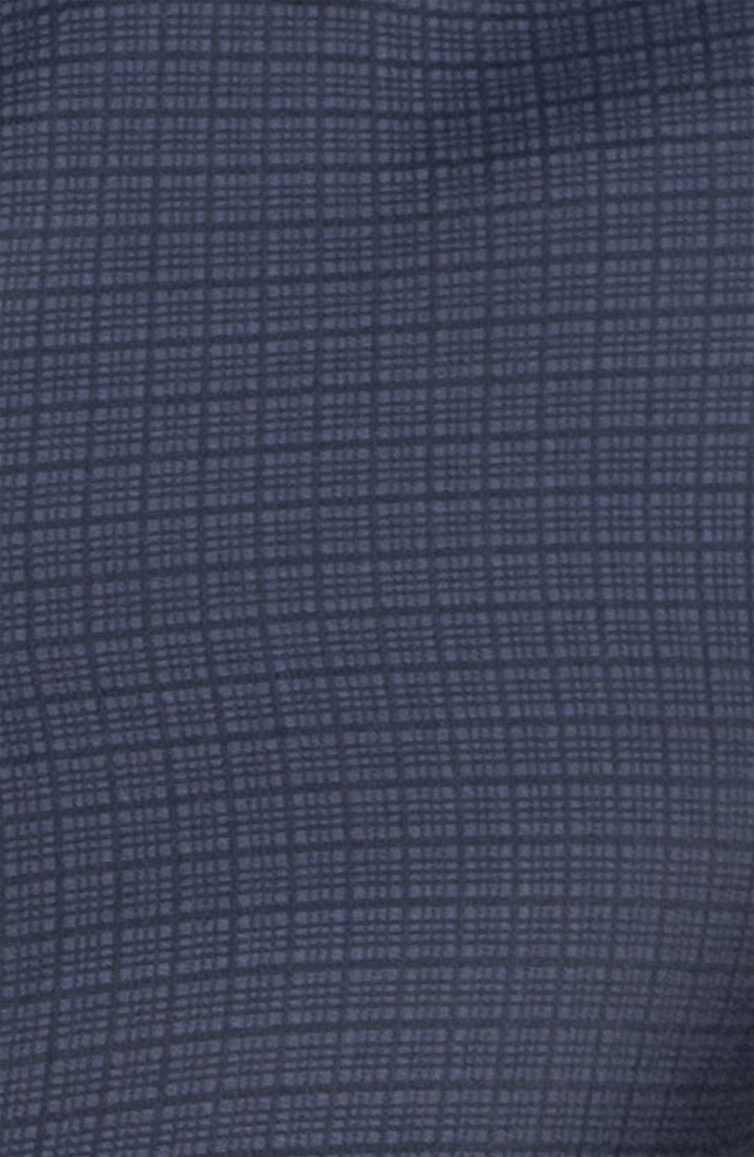 Alternate Image 3  - Armani Collezioni Grid Check Woven Shirt