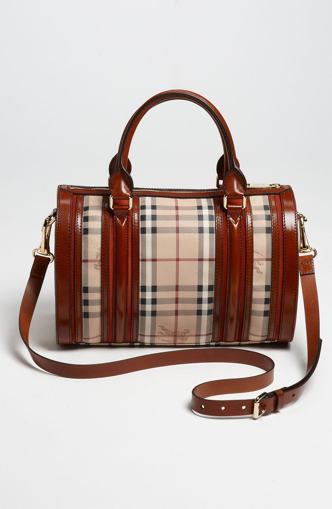 Alternate Image 4  - Burberry 'Haymarket Check' Satchel