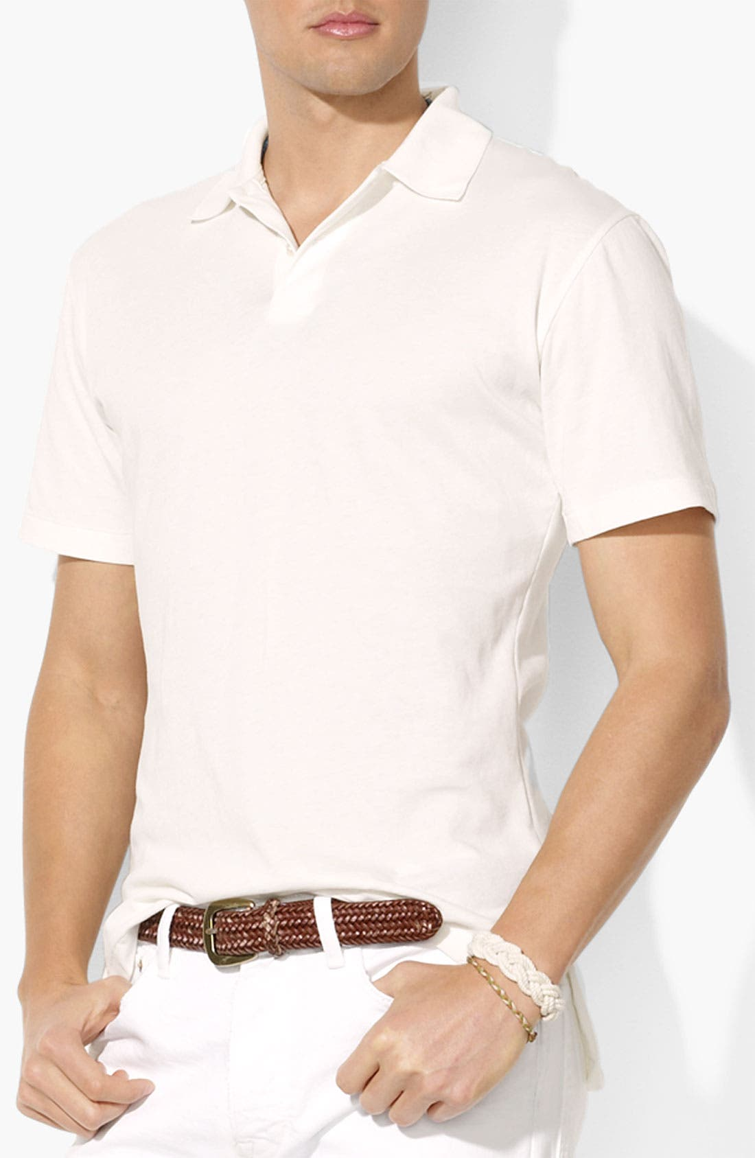 Main Image - Polo Ralph Lauren Classic Fit Jersey Polo