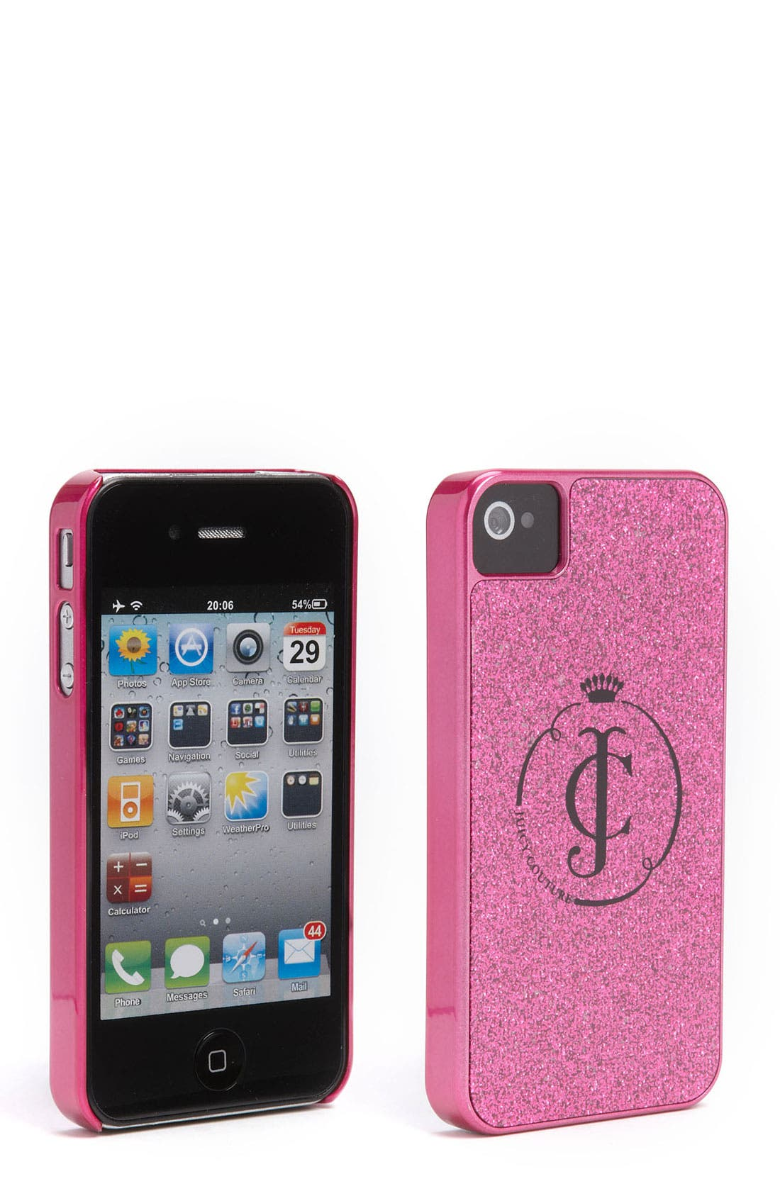 Alternate Image 1 Selected - Juicy Couture iPhone 4 & 4S Case