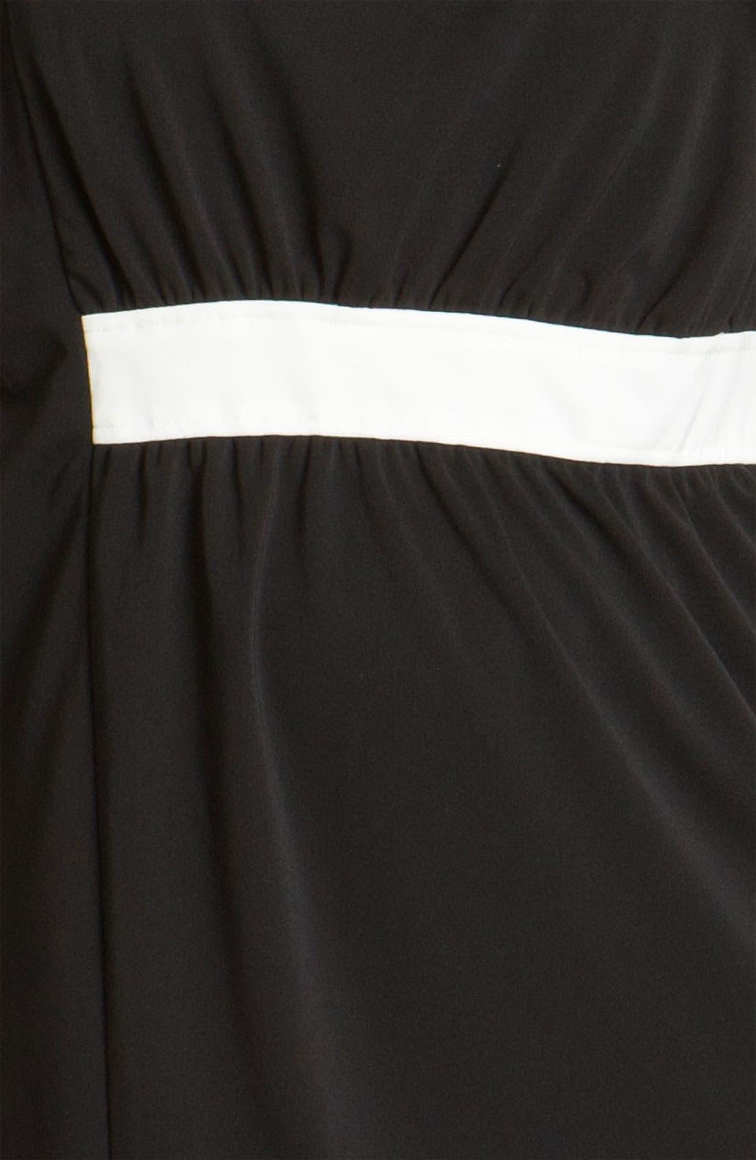 Alternate Image 3  - Adrianna Papell Colorblock Dress (Plus)