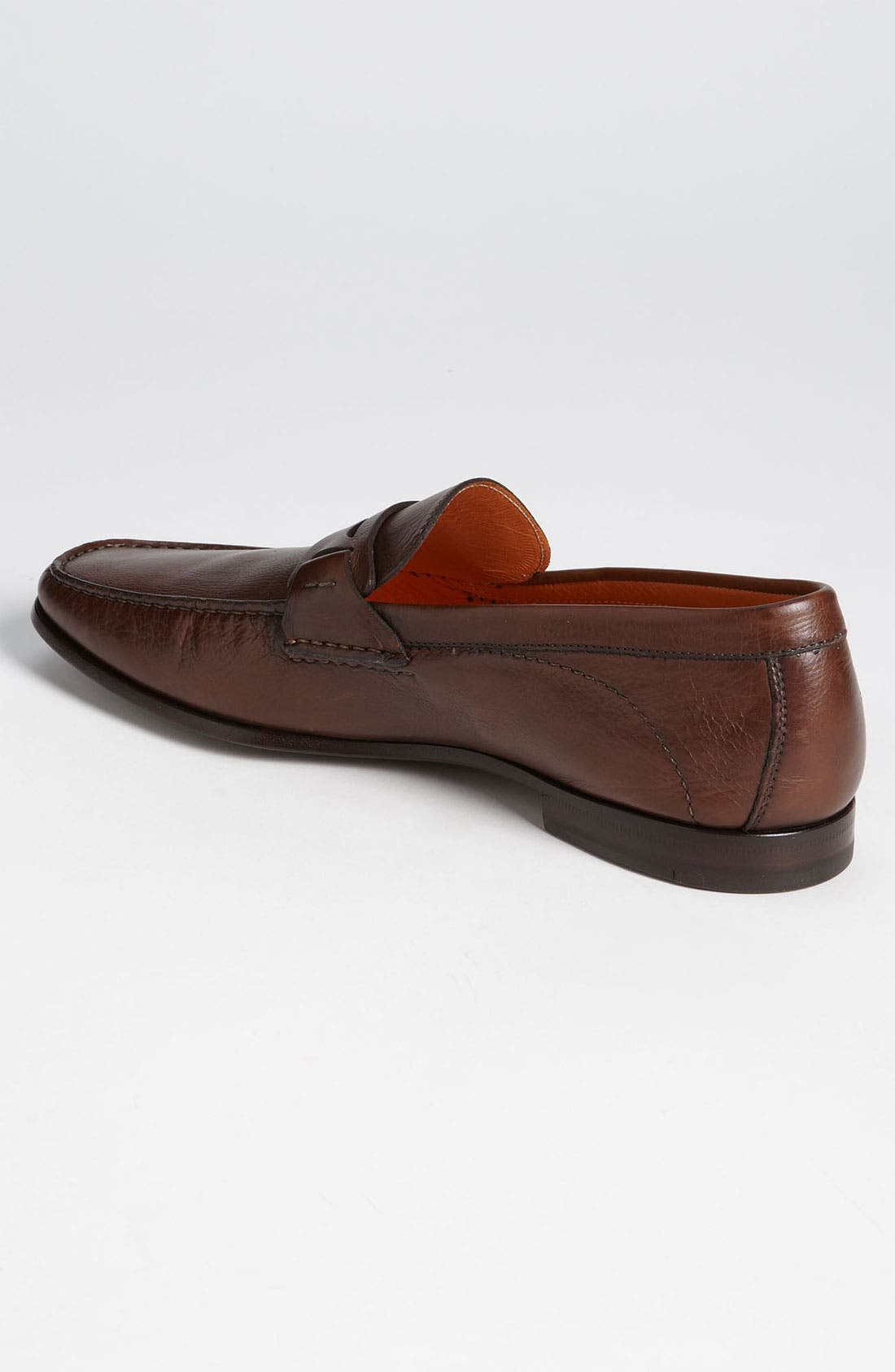 Alternate Image 2  - Santoni 'Reed' Penny Loafer