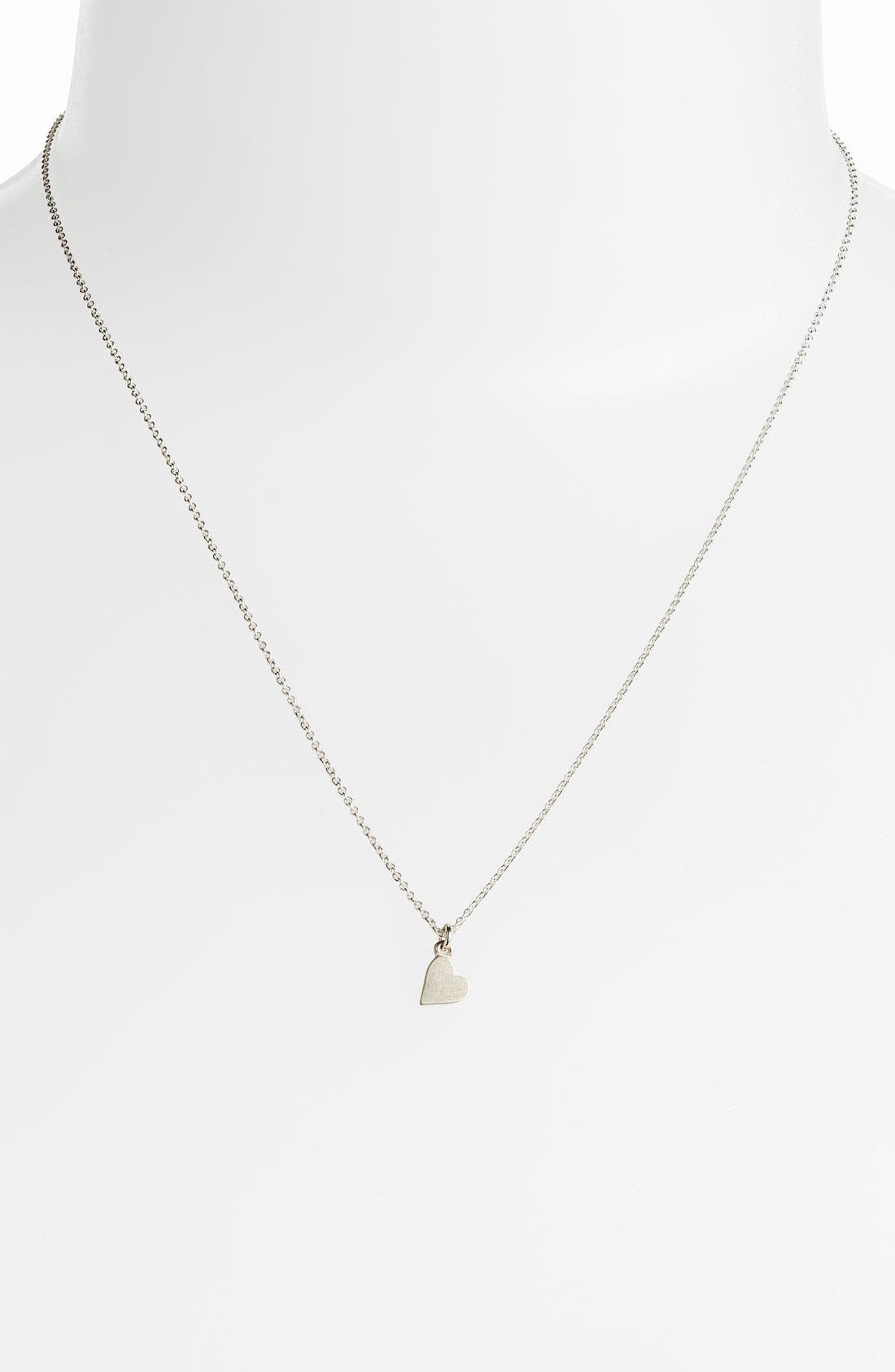 Alternate Image 2  - Dogeared 'Bridesmaid - Heart' Pendant Necklace (Nordstrom Exclusive)