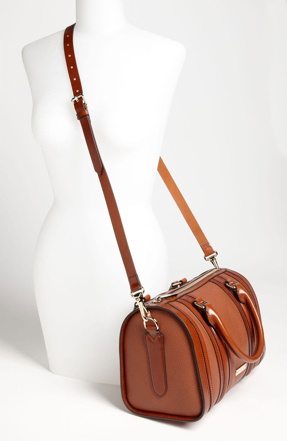 Alternate Image 2  - Burberry Leather Satchel