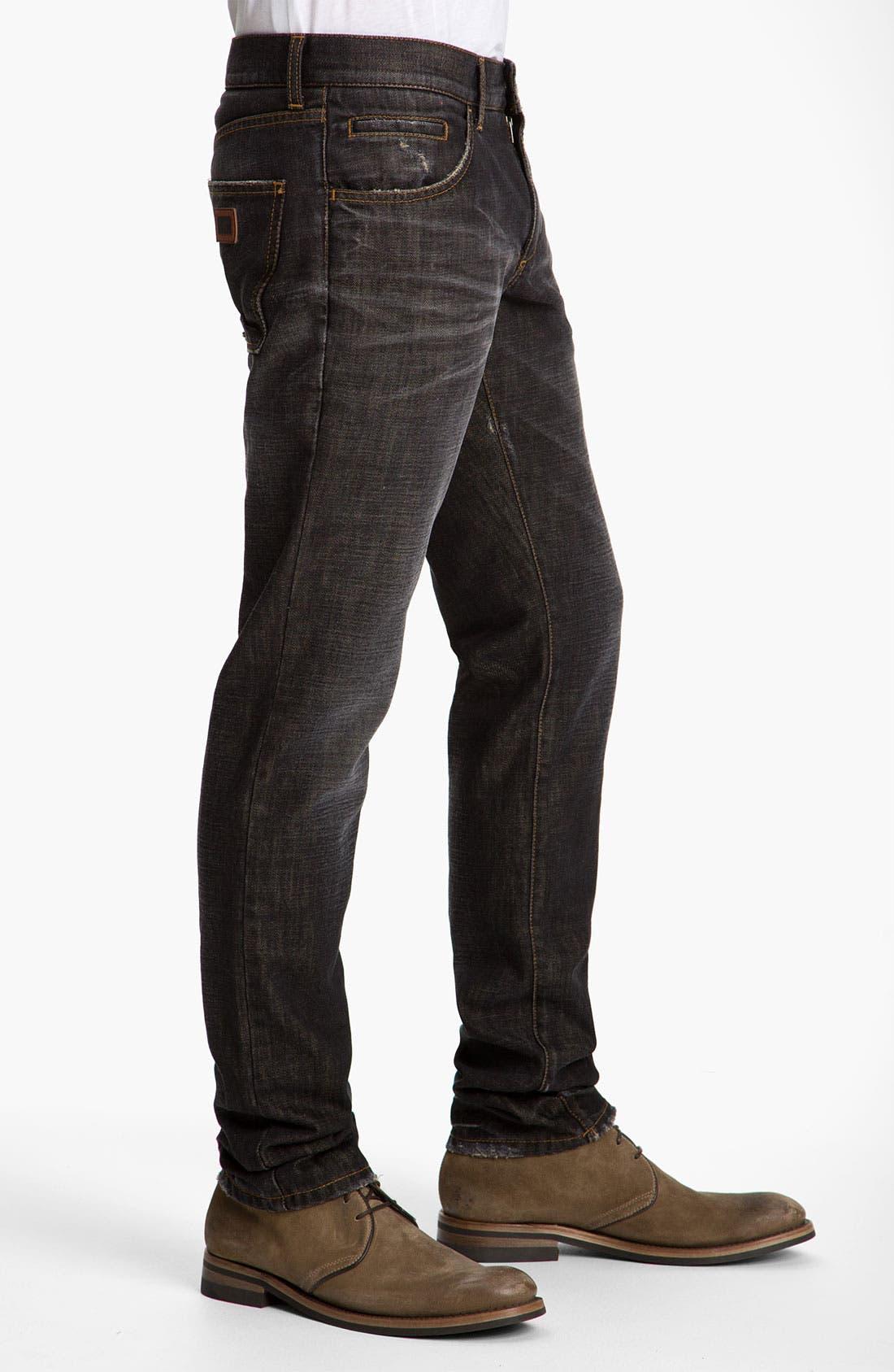 Alternate Image 3  - Dolce&Gabbana Slim Straight Leg Jeans