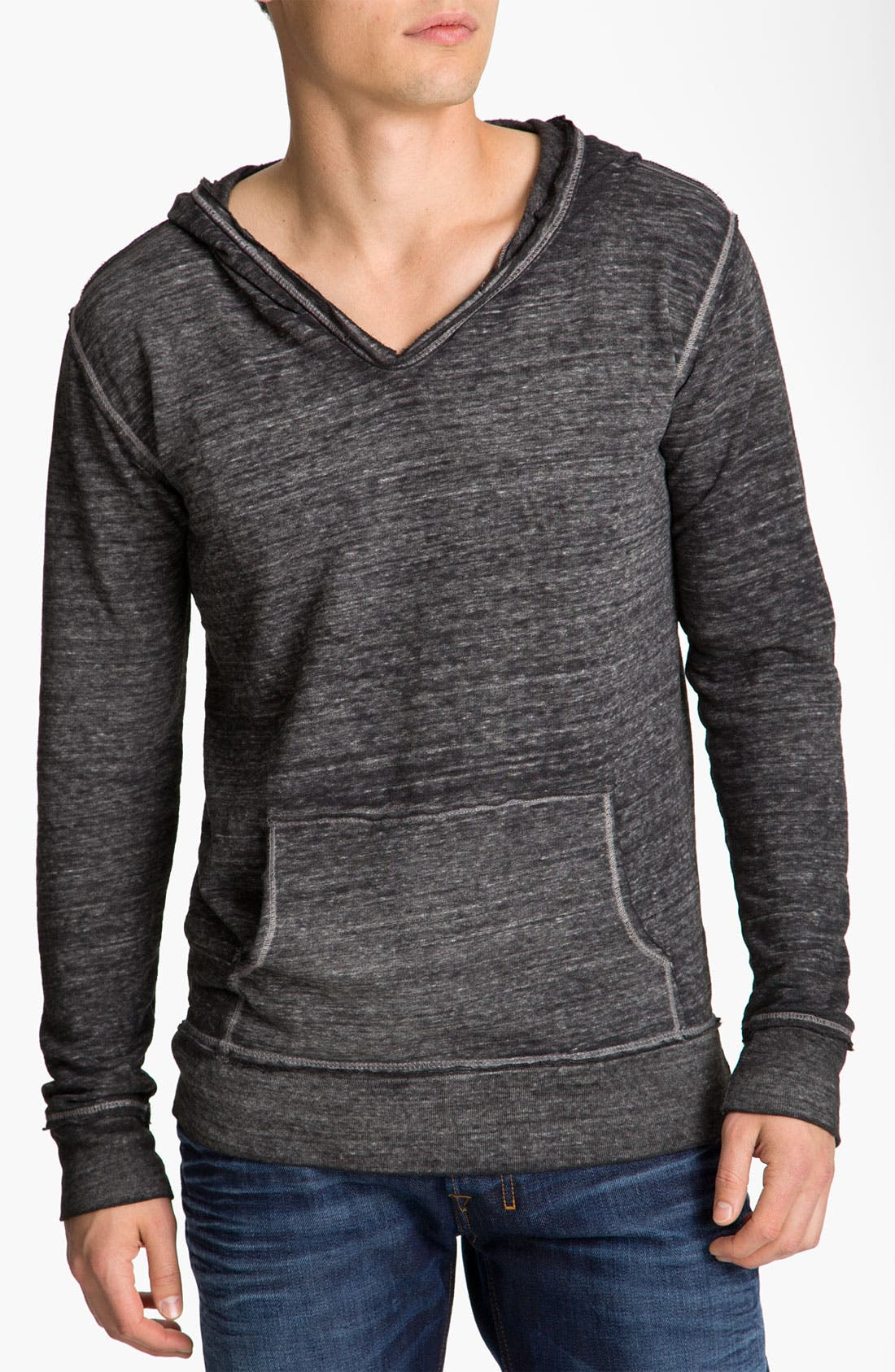 Alternate Image 1 Selected - Threads for Thought V-Neck Hoodie
