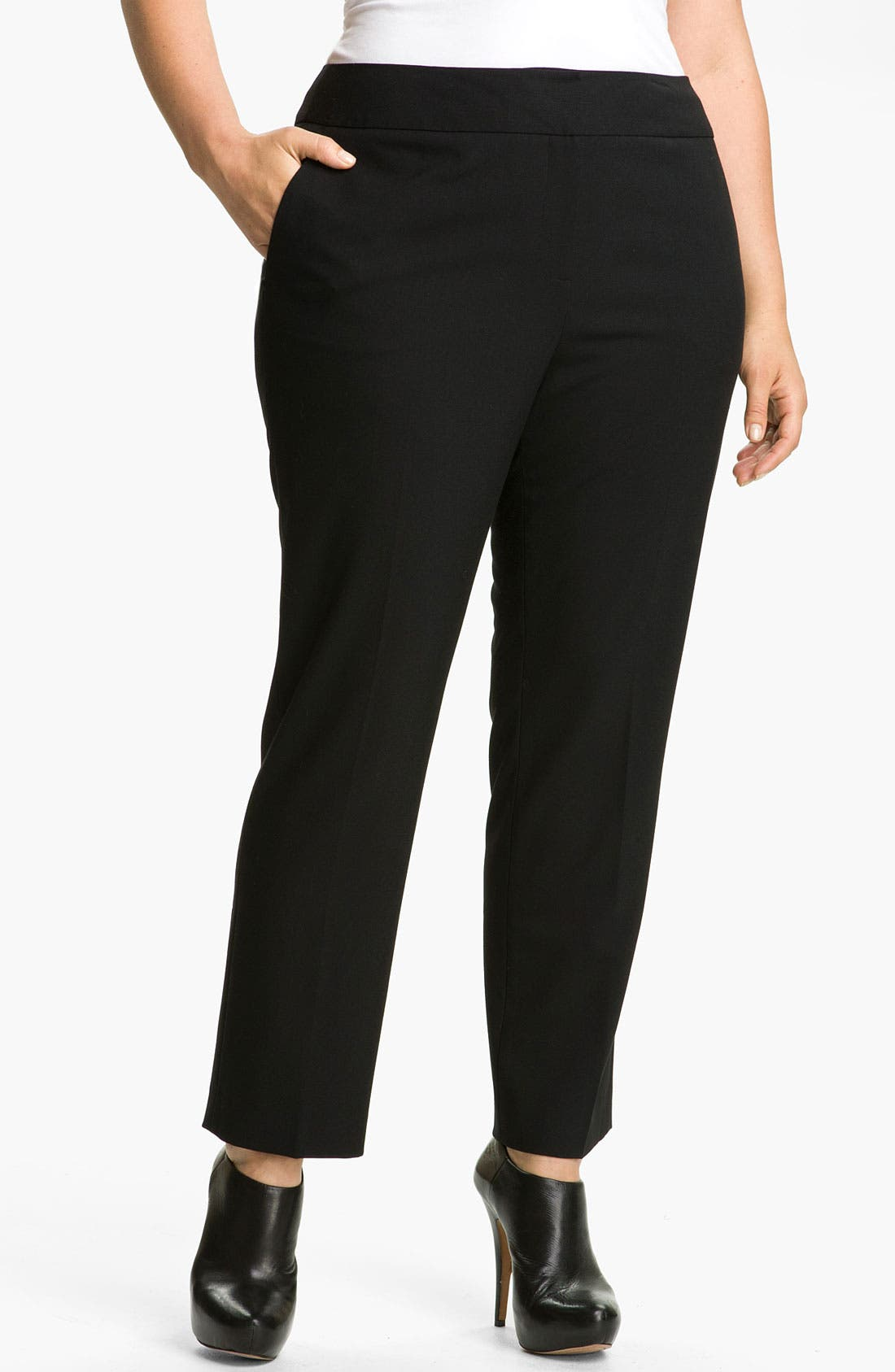 Alternate Image 1  - Vince Camuto Ankle Pants (Plus Size)