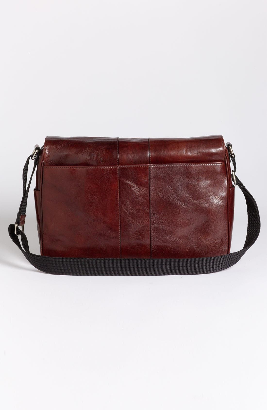 Alternate Image 3  - Bosca Leather Messenger Bag