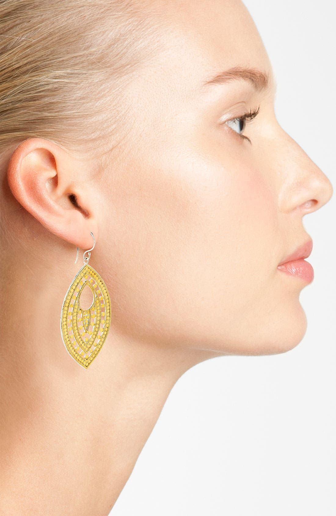 Alternate Image 2  - Anna Beck 'Lombok' Keyhole Leaf Earrings