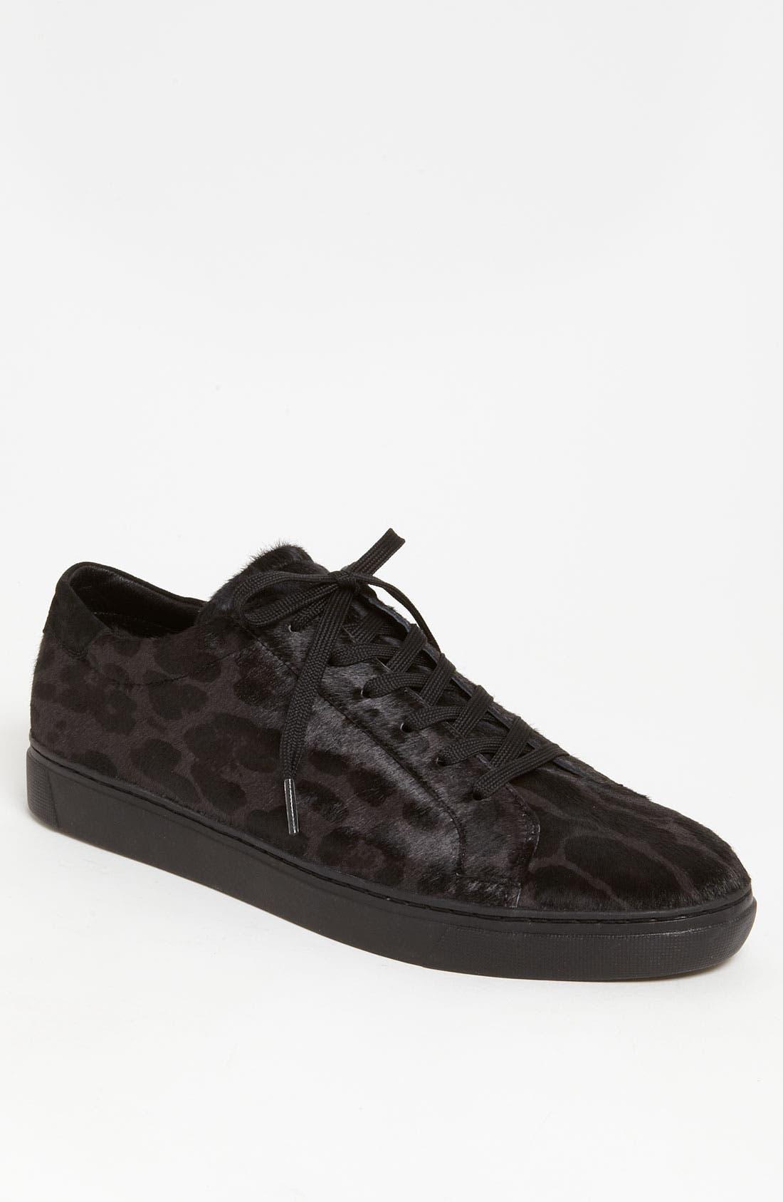Alternate Image 1 Selected - Dolce&Gabbana Leopard Print Sneaker