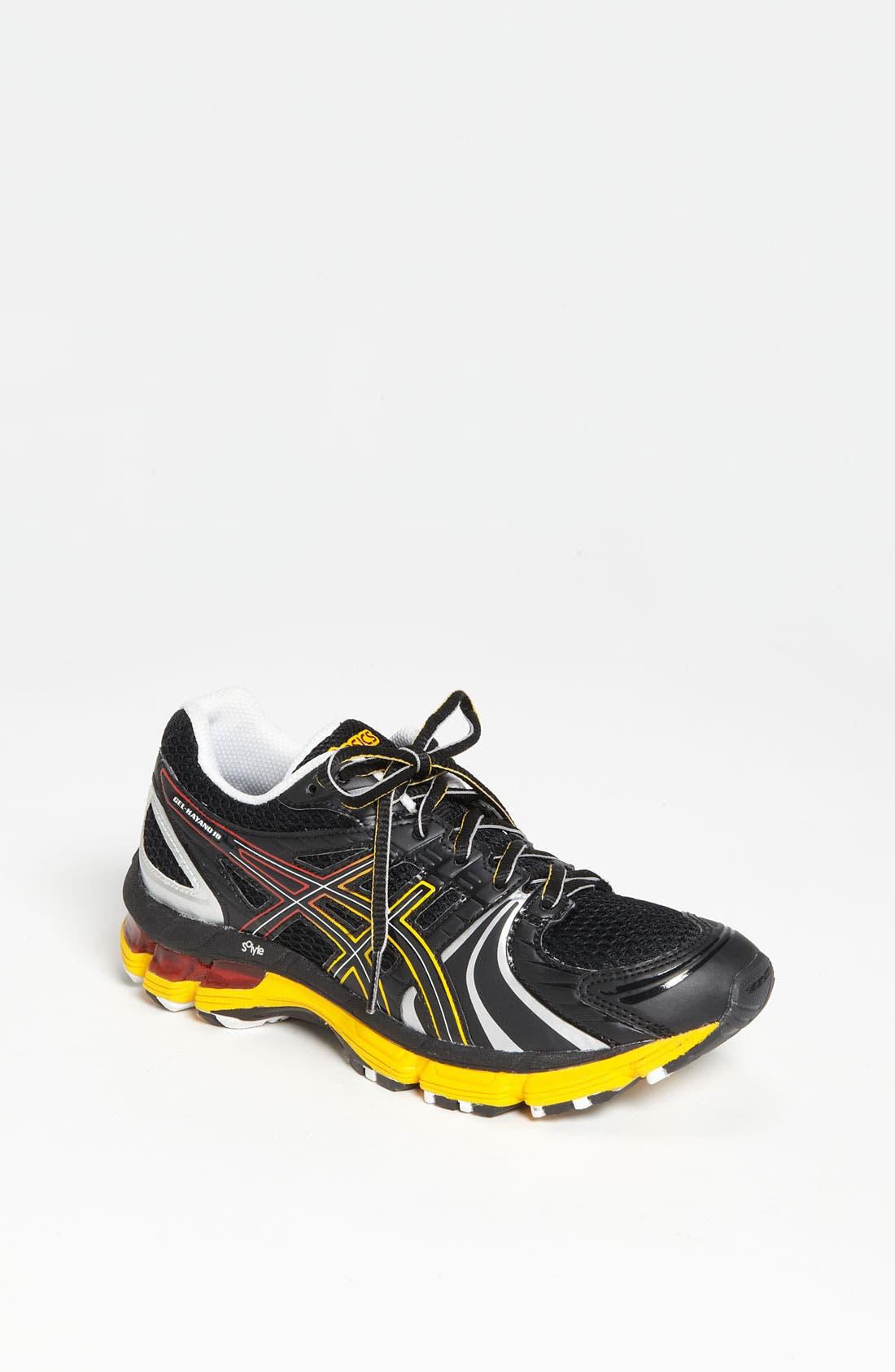 Alternate Image 1 Selected - ASICS® 'GEL-Kayano 18' Training Shoe (Big Kid)
