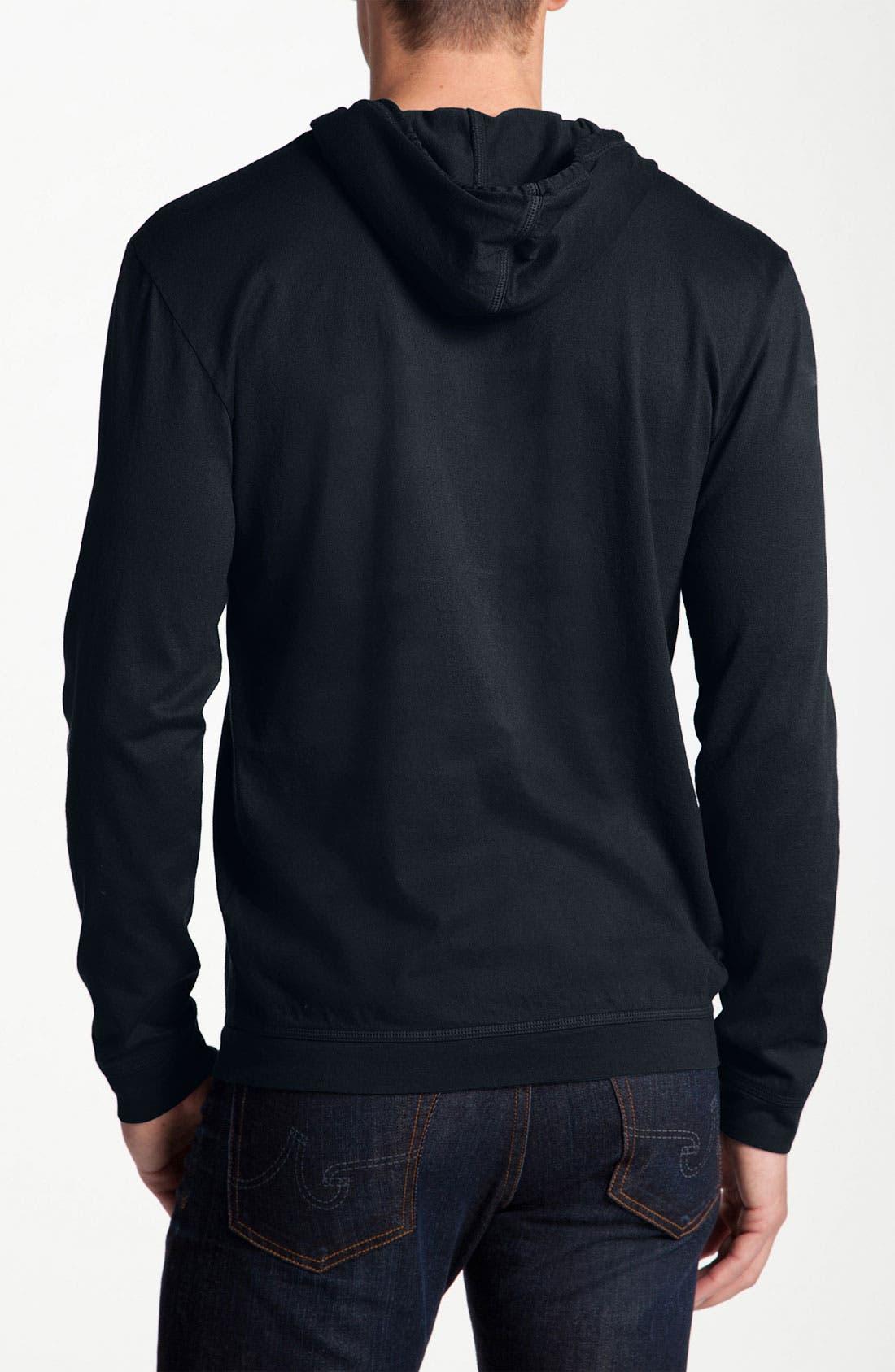 Alternate Image 2  - Lacoste Long Sleeve Hoodie