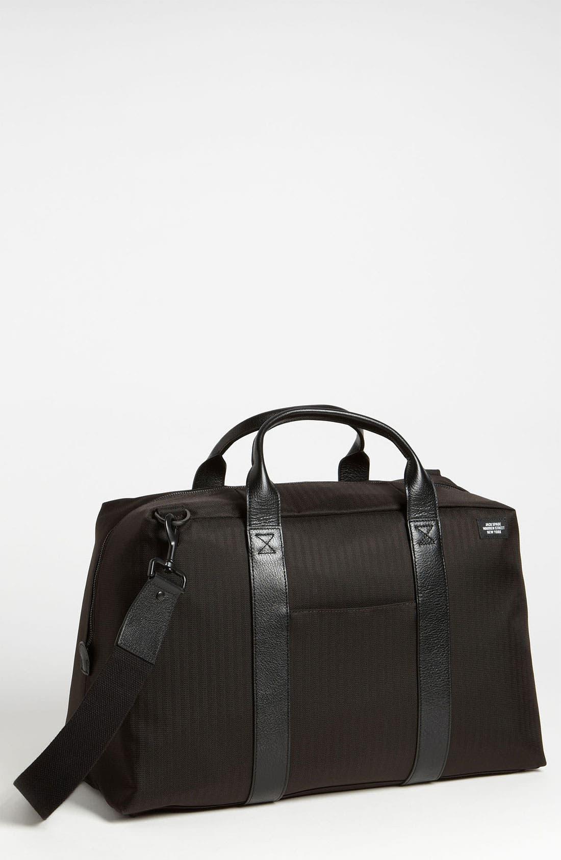Alternate Image 1 Selected - Jack Spade 'Wayne' Nylon Duffel Bag