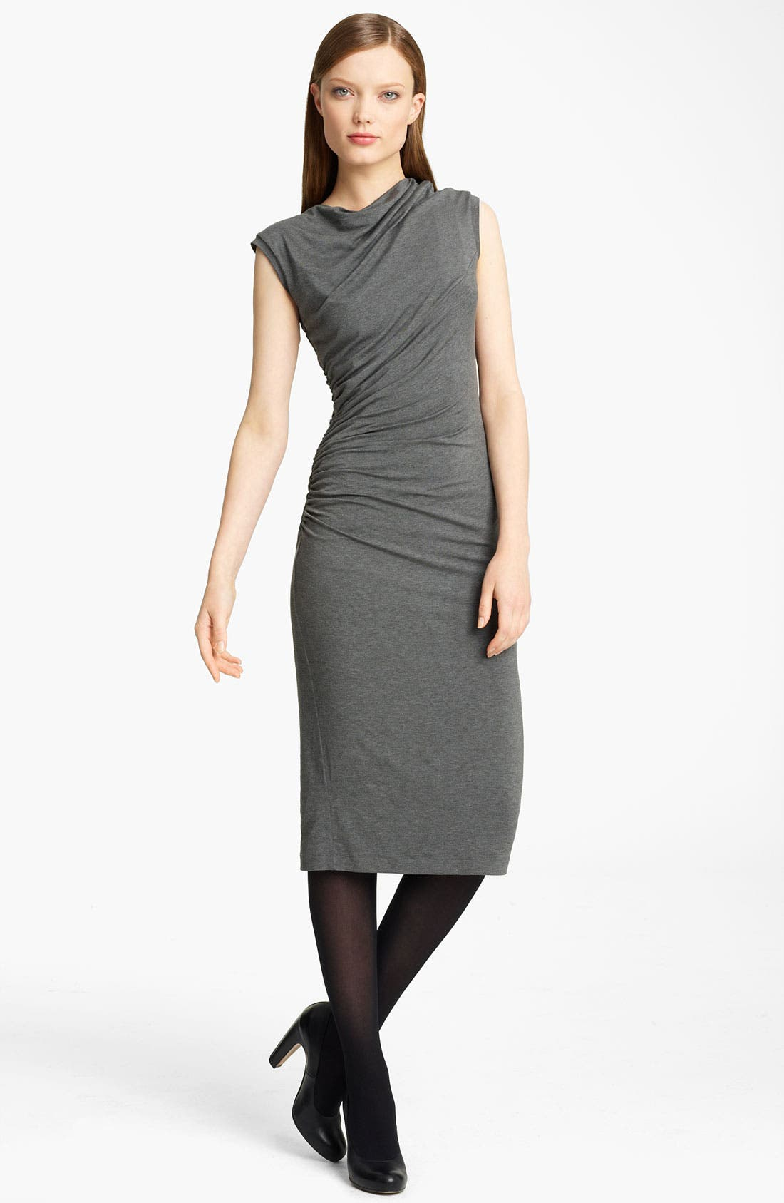 Alternate Image 1 Selected - Lida Baday Ruched Jersey Dress