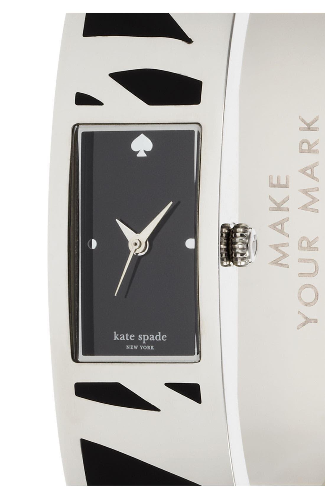 Alternate Image 2  - kate spade new york 'carousel' bangle watch, 15mm x 16mm