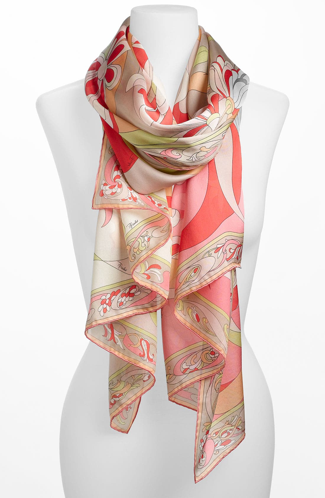 Alternate Image 1 Selected - Emilio Pucci 'Evoluzioni' Silk Scarf