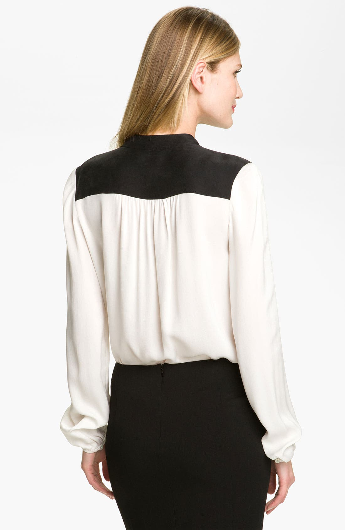 Alternate Image 2  - Theory 'Gerine - Cicero' Silk Blouse