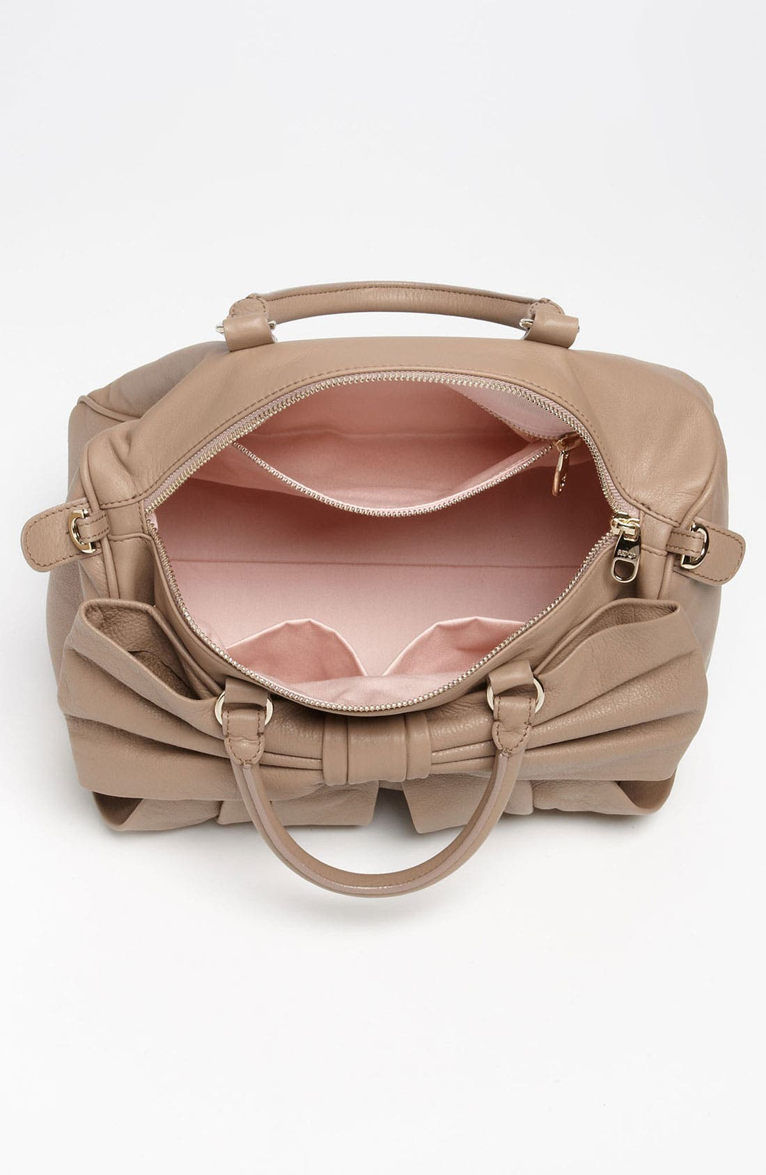 Alternate Image 4  - RED Valentino 'Bow' Leather Bowler Bag