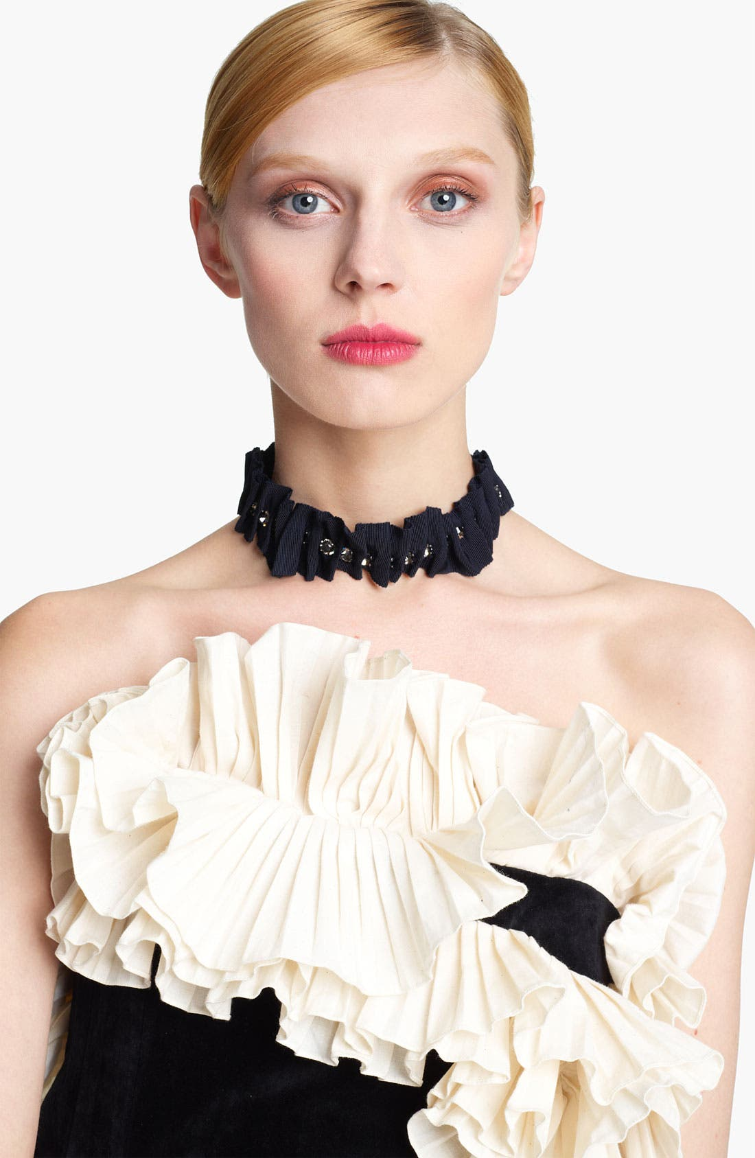Alternate Image 1 Selected - Lanvin '10th Anniversary' Grosgrain Ribbon Necklace